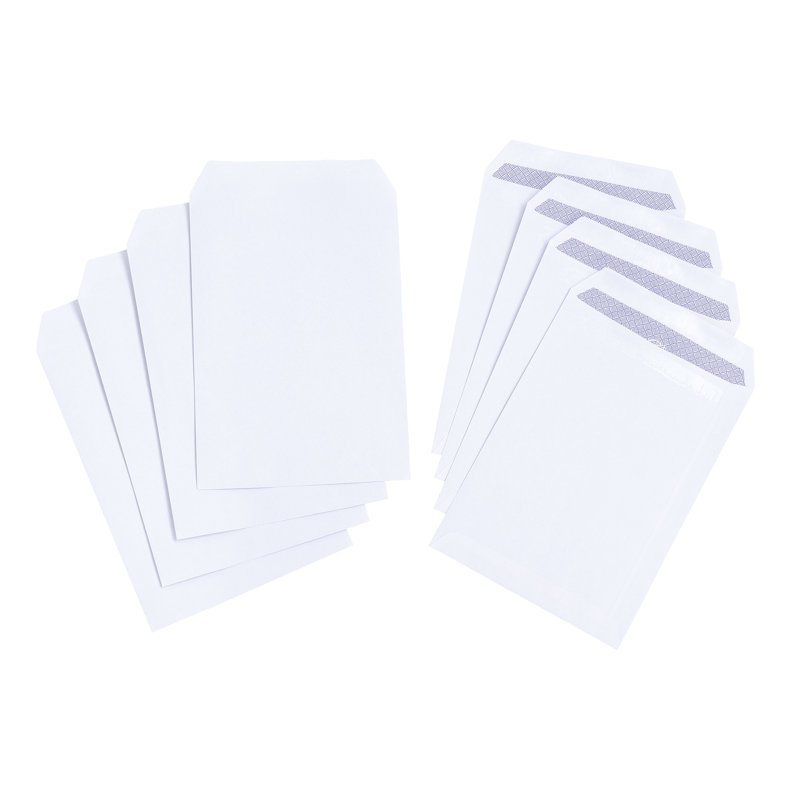 C5 5 Star Value Envelope C5 Pocket Self Seal 100gsm White Pack 500