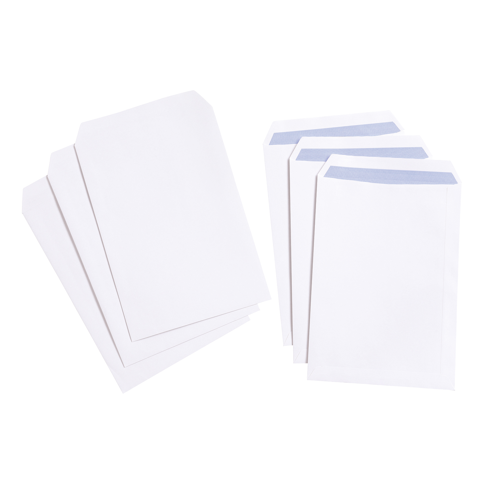 C4 5 Star Value Envelope C4 Pocket Self Seal 100gsm White Pack 250