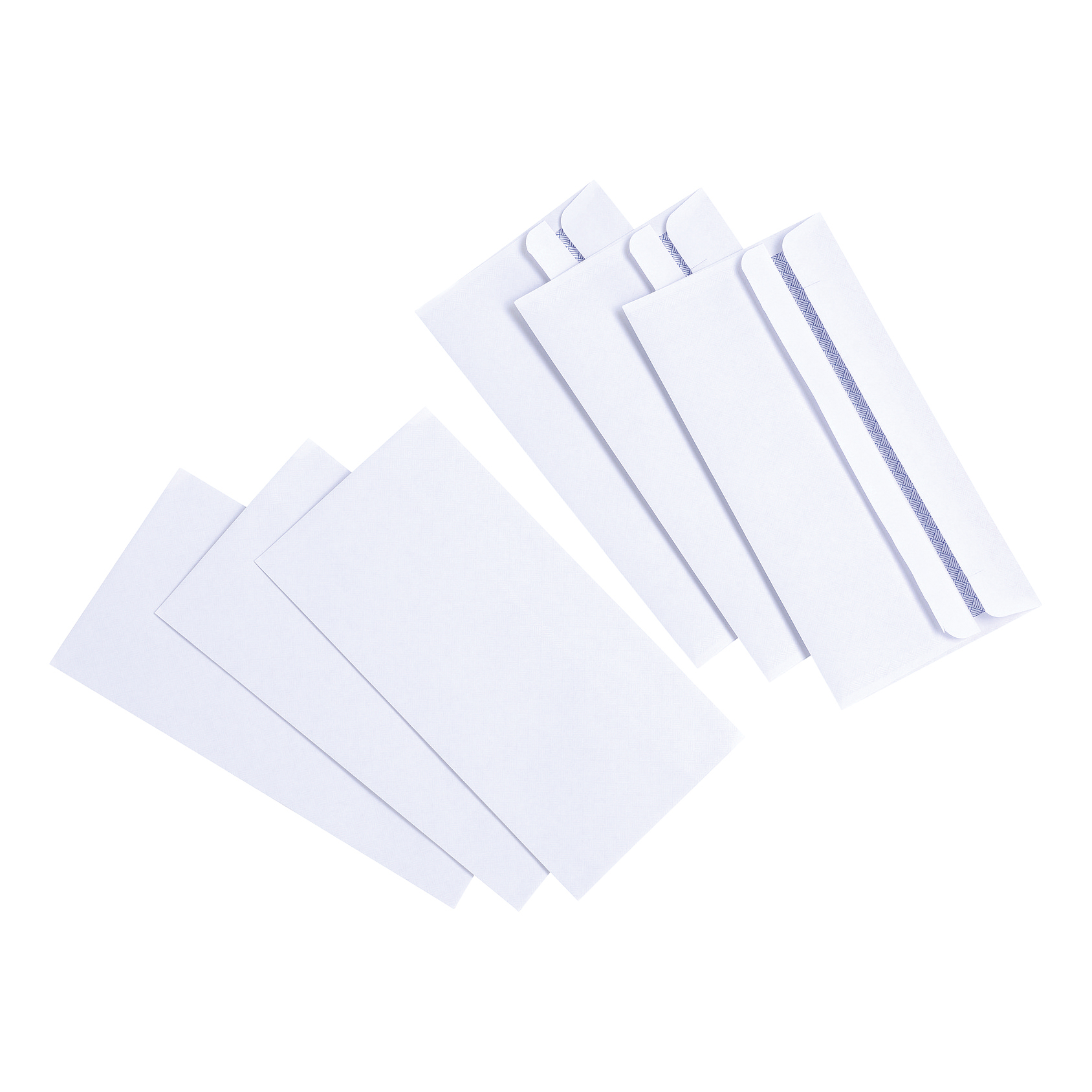 5 Star Value Envelope DL Wallet Self Seal 80gsm White Pack 1000