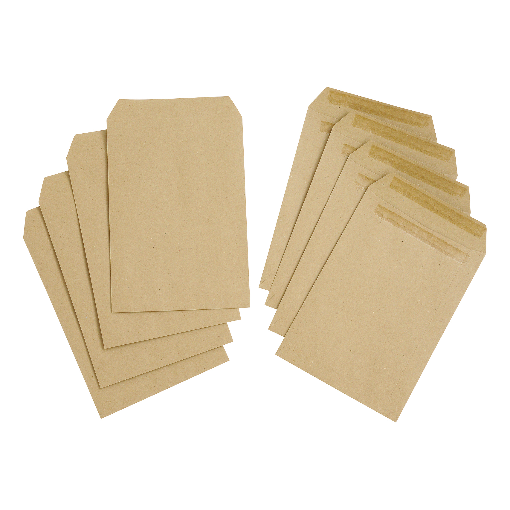 5 Star Value Envelope C5 Pocket Self Seal 80gsm Plain Manilla Pack 500
