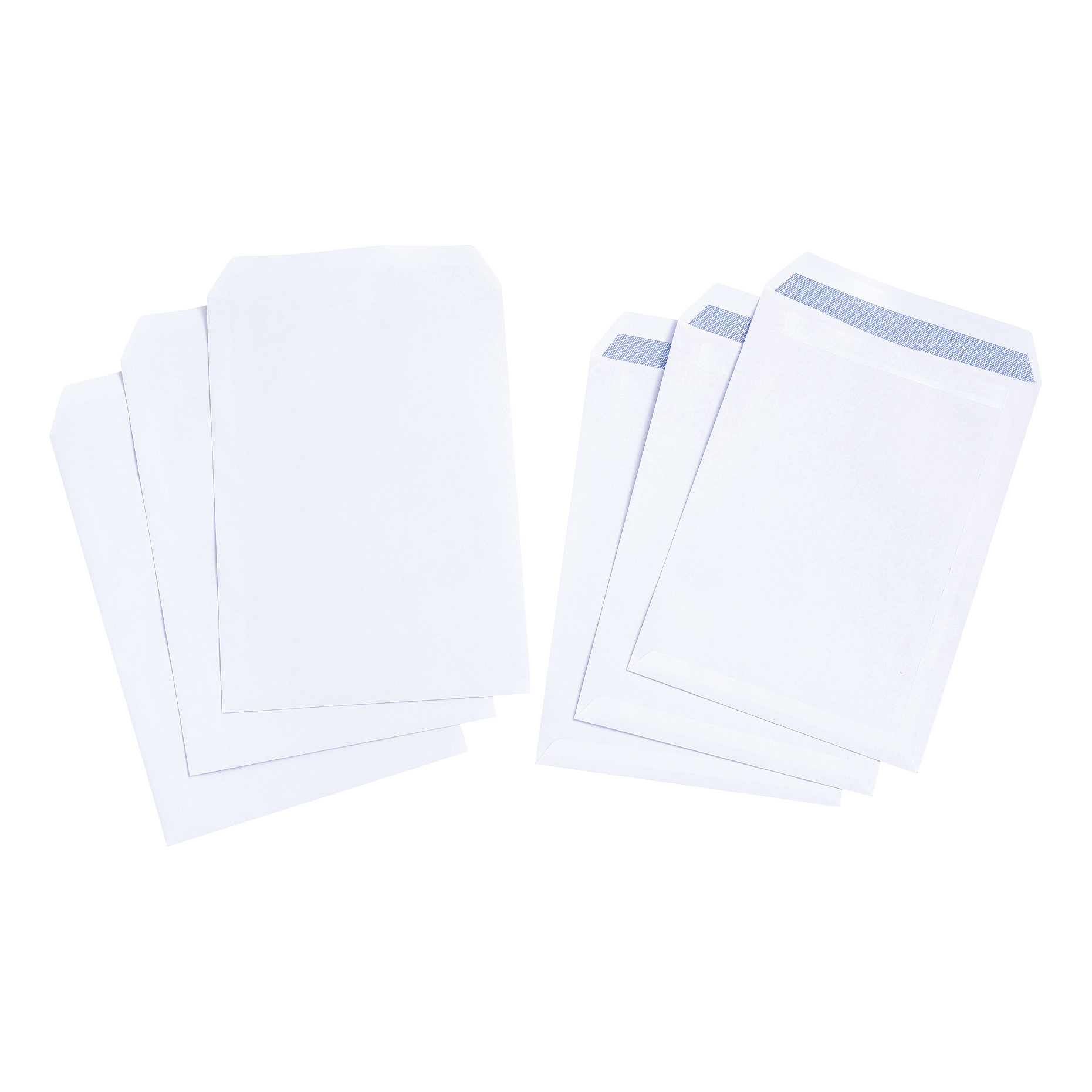 C4 5 Star Value Envelope C4 Pocket Self Seal 90gsm White Pack 250