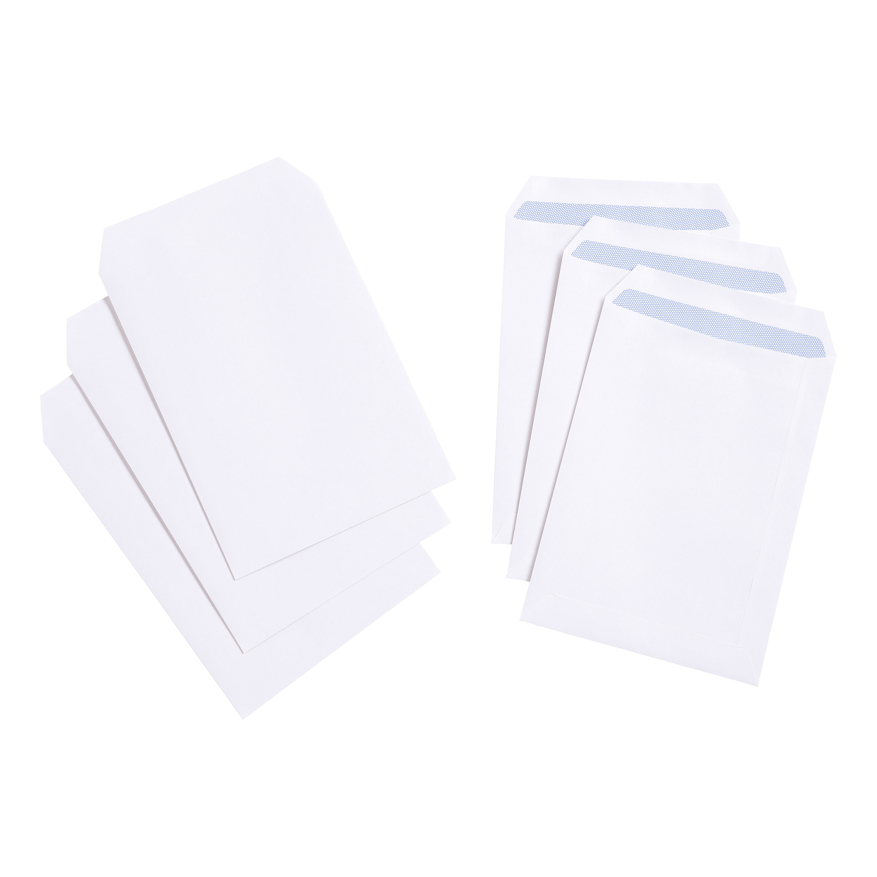 5 Star Value Envelope C5 Pocket Self Seal 90gsm White Pack 500