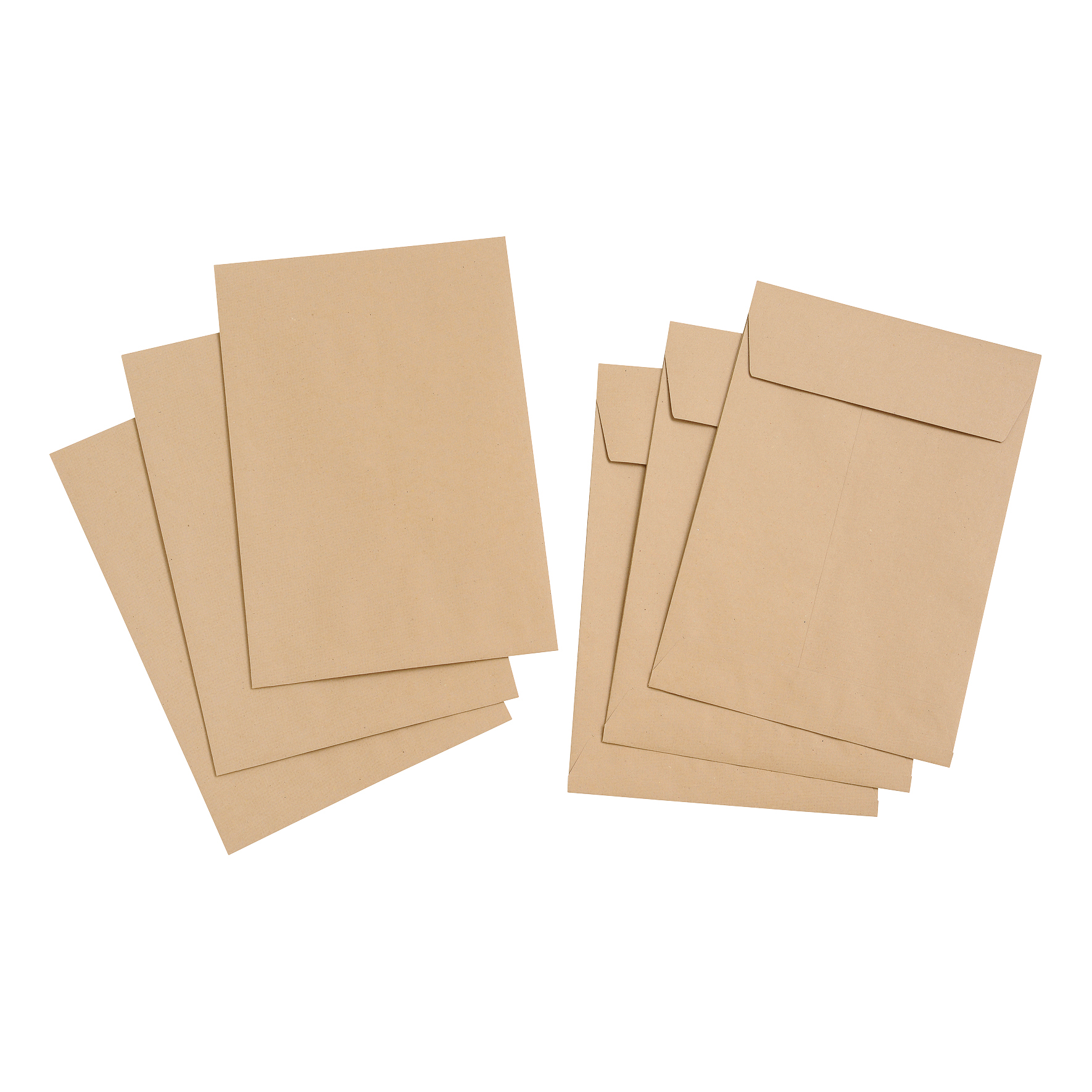 5 Star Value Envelope C4 Gusset 25mm Peel and Seal 115gsm Manilla Pack 125