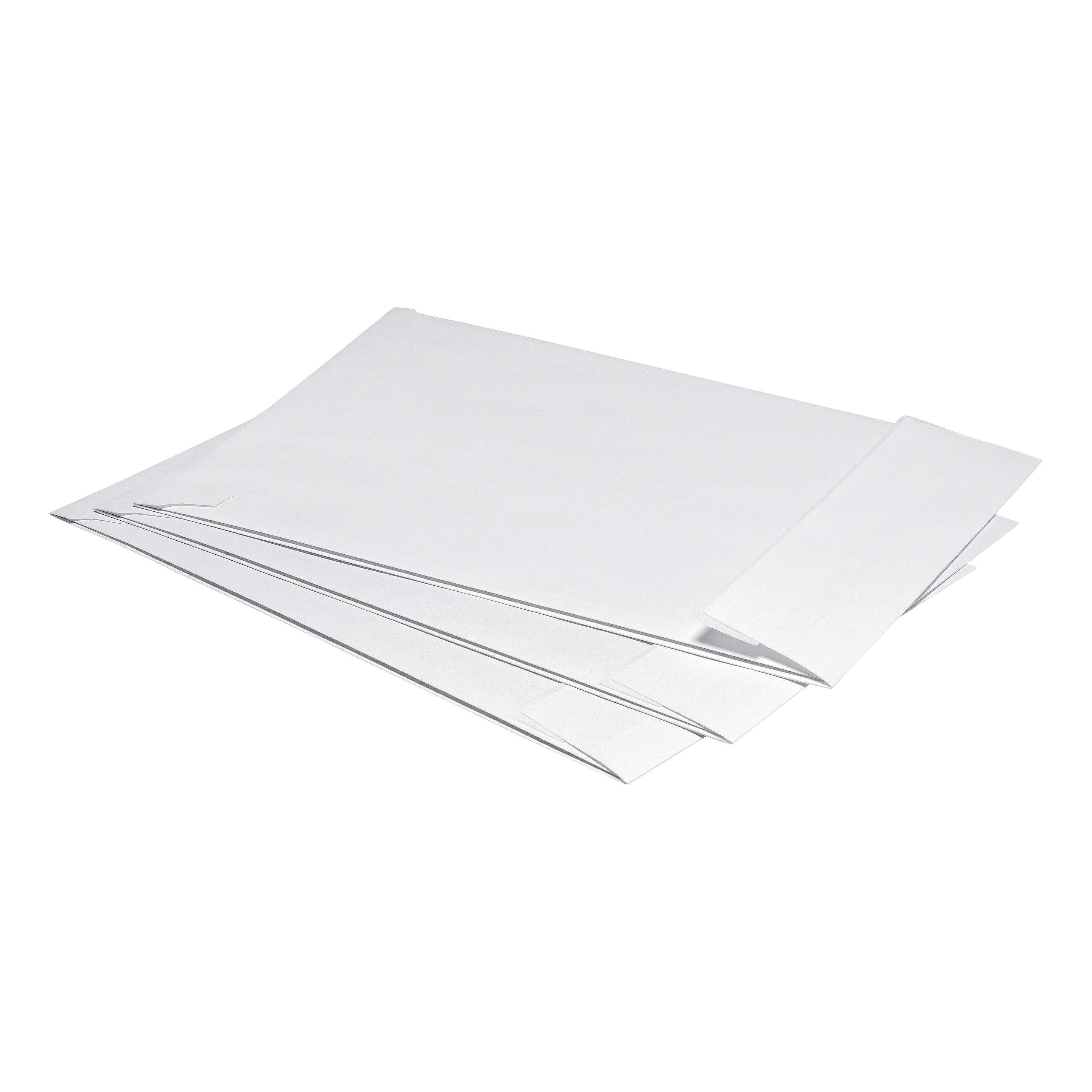 Gusset Envelopes 5 Star Office Envelopes C4 Gusset 25mm Peel and Seal 120gsm White Pack 125