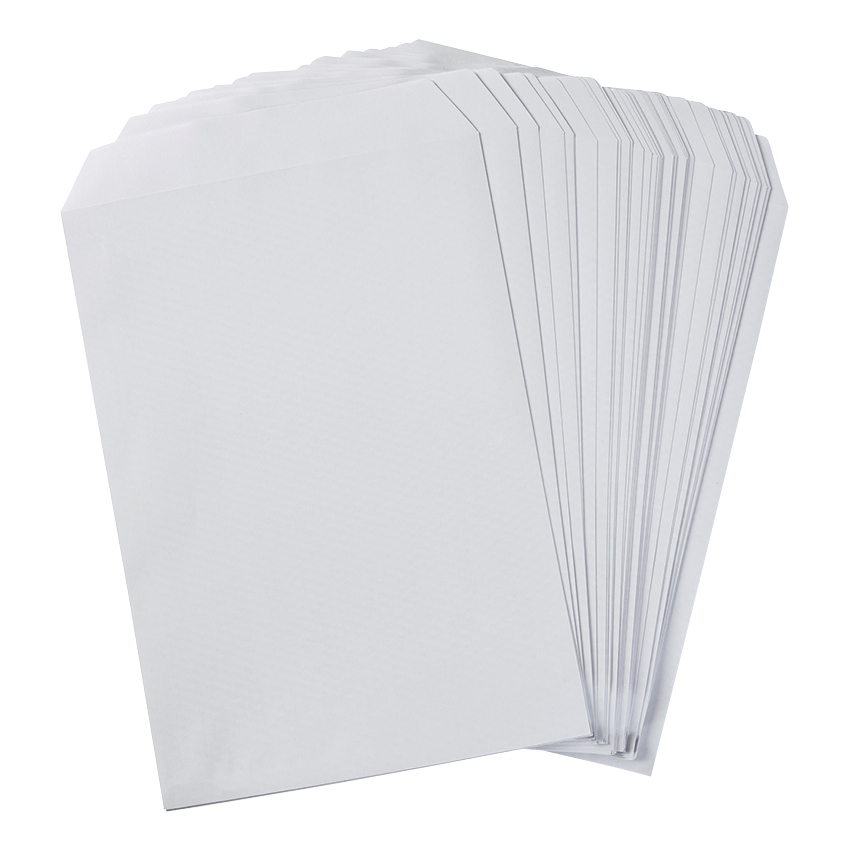 5 Star Eco Envelopes Recycled Pocket Self Seal 100gsm C4 324x229mm White Pack 250