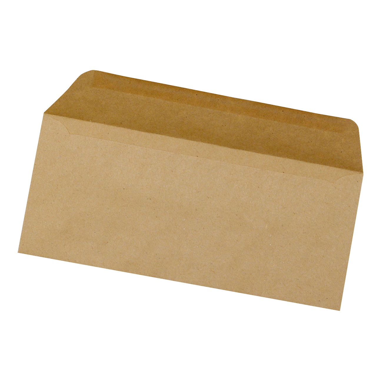 5 Star Office Envelopes DL Recycled Lightweight Wallet Gummed 75gsm Manilla [Pack 1000]