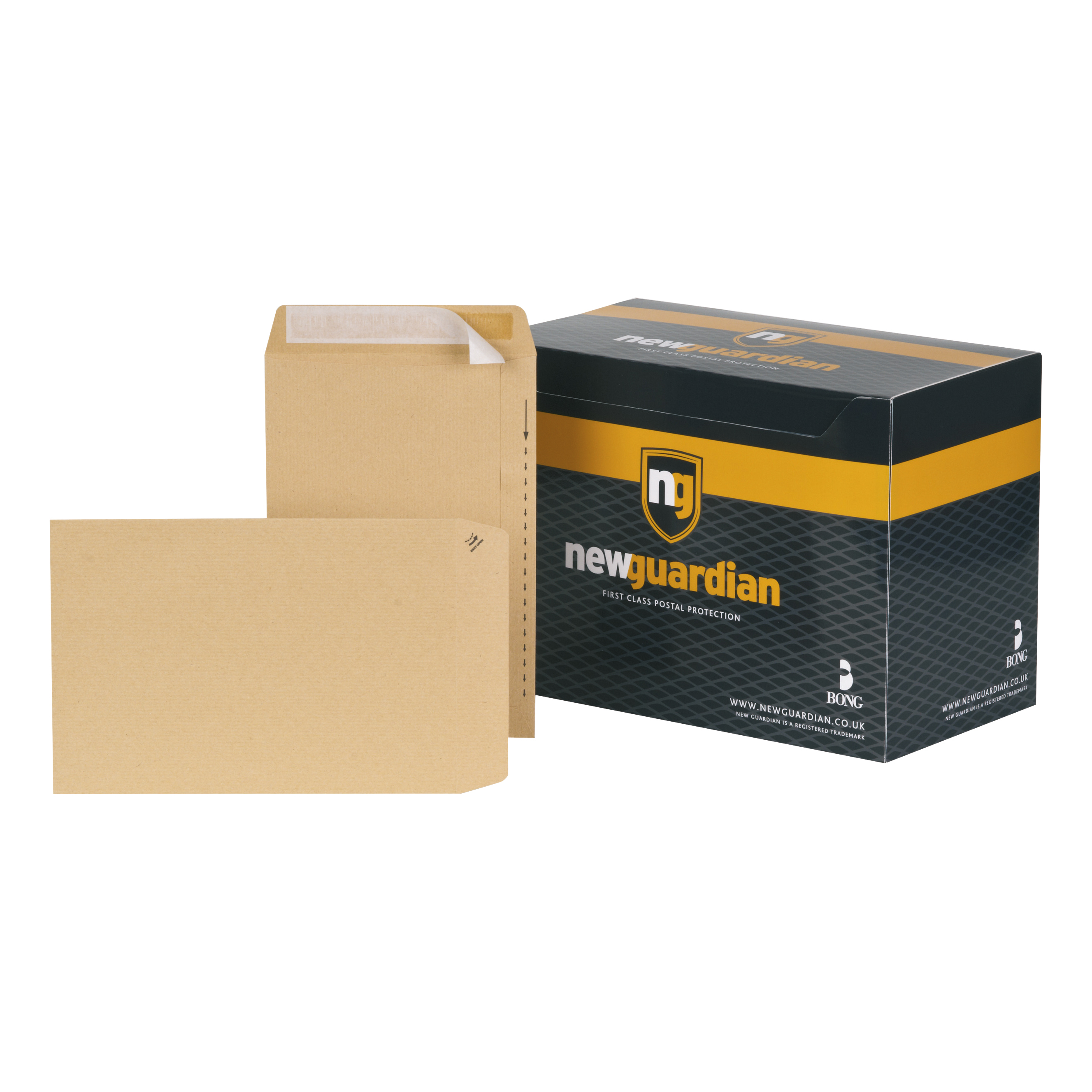 Wage Envelopes New Guardian Envelopes FSC Pocket Peel & Seal Heavyweight 130gsm 254x178mm Manilla Ref C26803 Pack 250