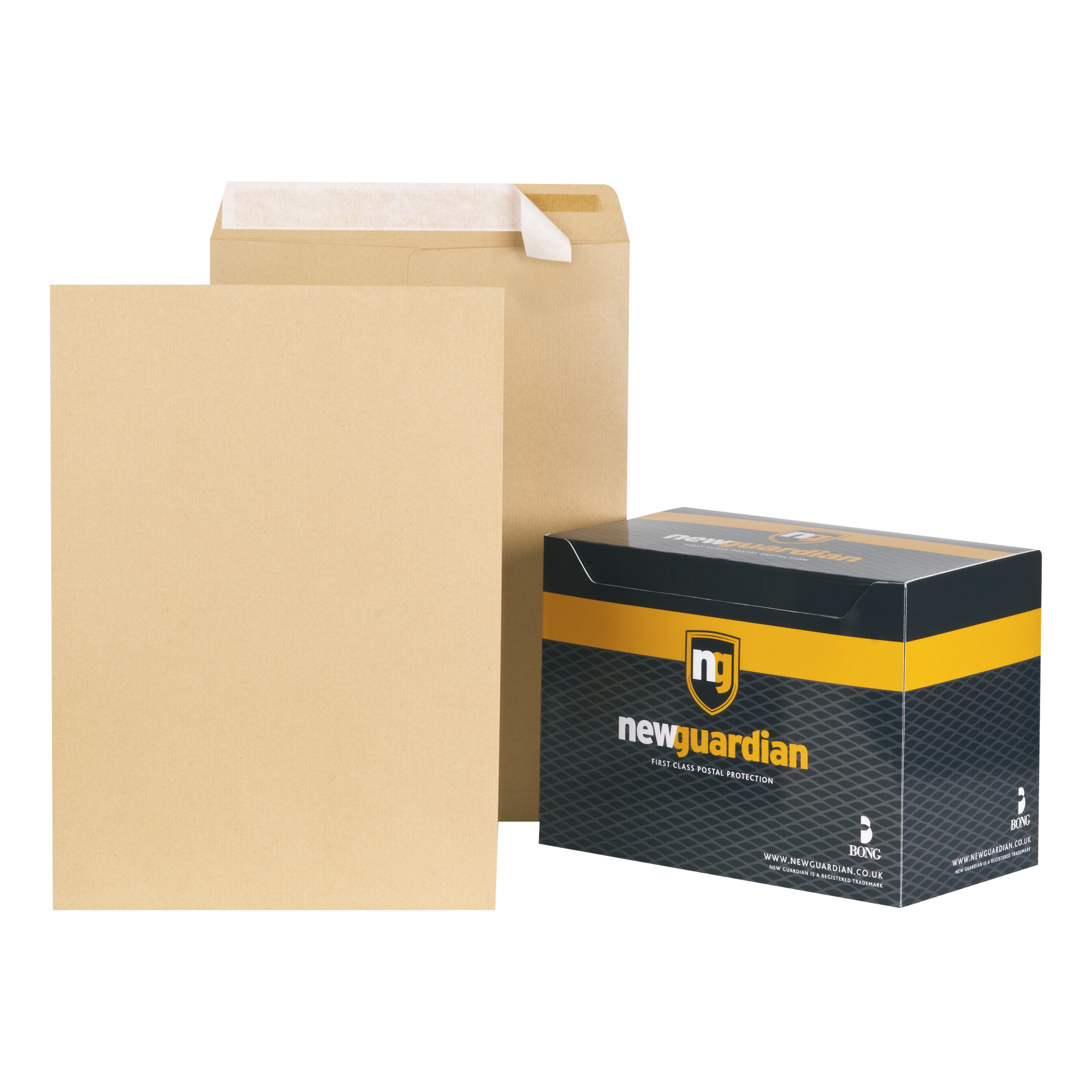 Wage Envelopes New Guardian Envelopes FSC Pocket Peel & Seal Hvyweight 130gsm C3 457x324mm Manilla Ref C27013 Pack 125
