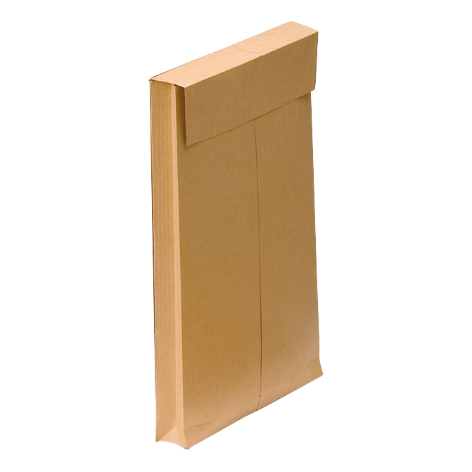 Gusset Envelopes New Guardian Envelopes FSC Hvyweight Peel & Seal Gusset 130gsm C4 324x229x25mm Man Ref E27266 Pack 100