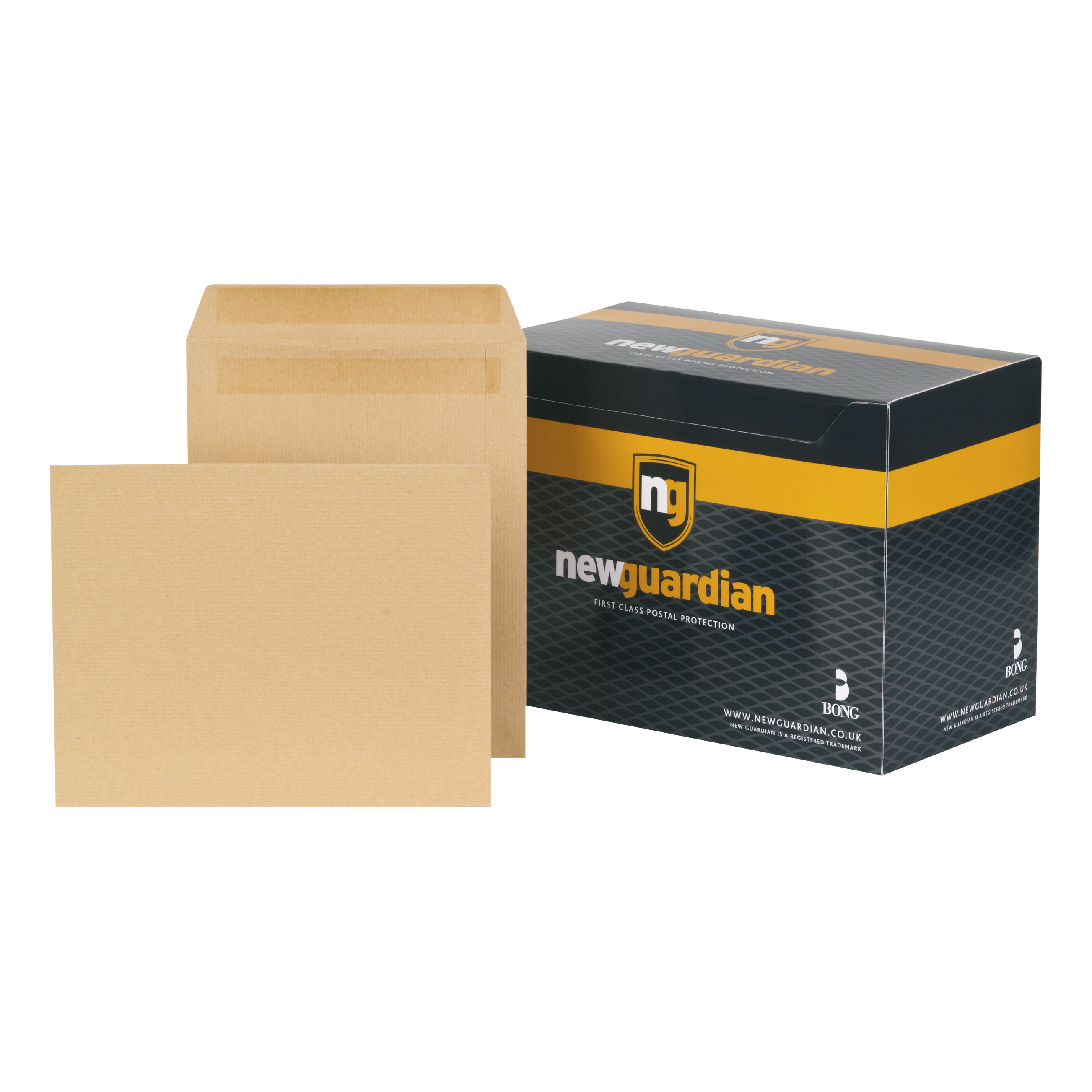 New Guardian Envelopes FSC Pocket Self Seal Heavyweight 130gsm 270x216mm Manilla Ref  [Pack 250]