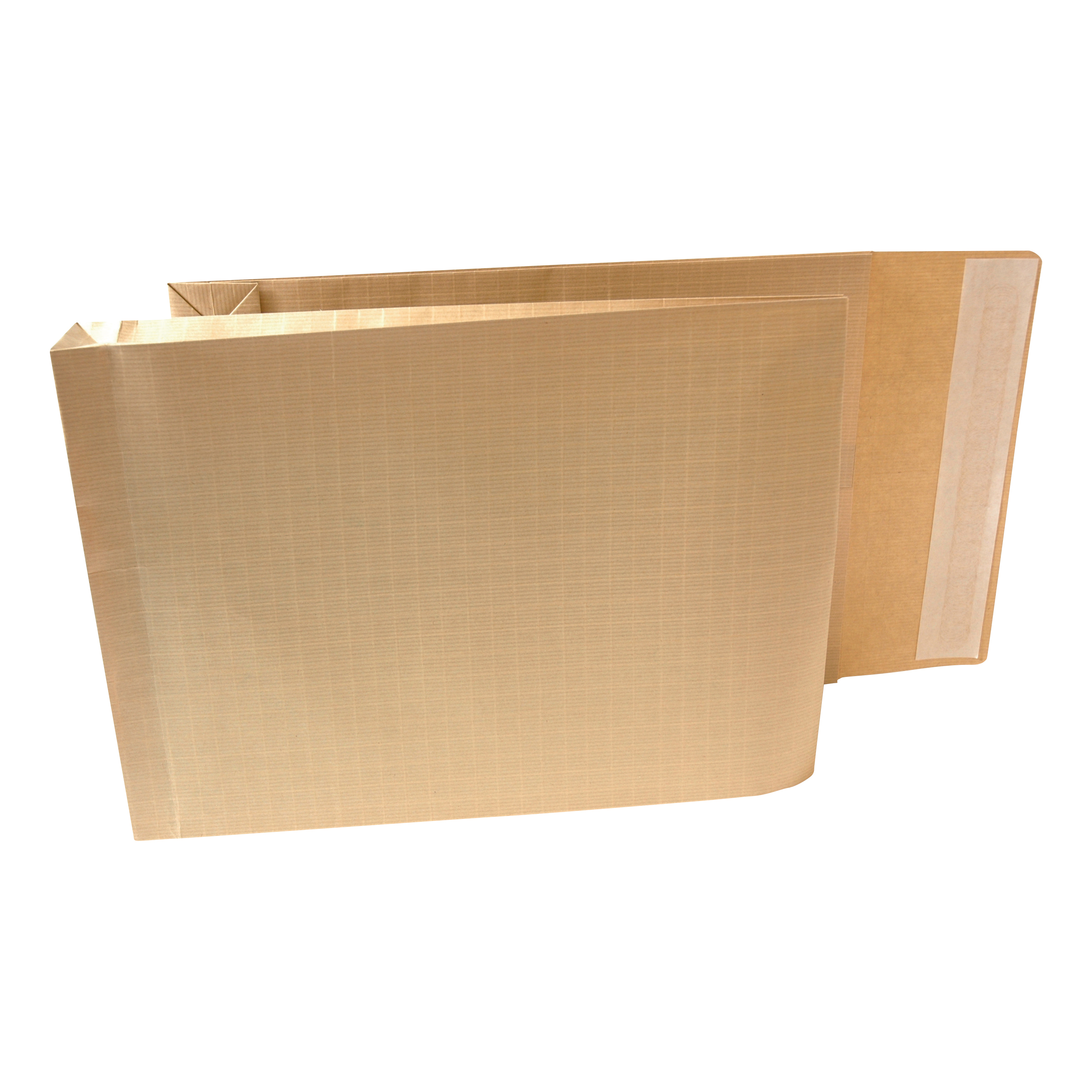 New Guardian Armour Envelopes 380x280mm Gusset 50mm Peel&Seal 130gsm Kraft Manilla Ref H28313 Pack 100