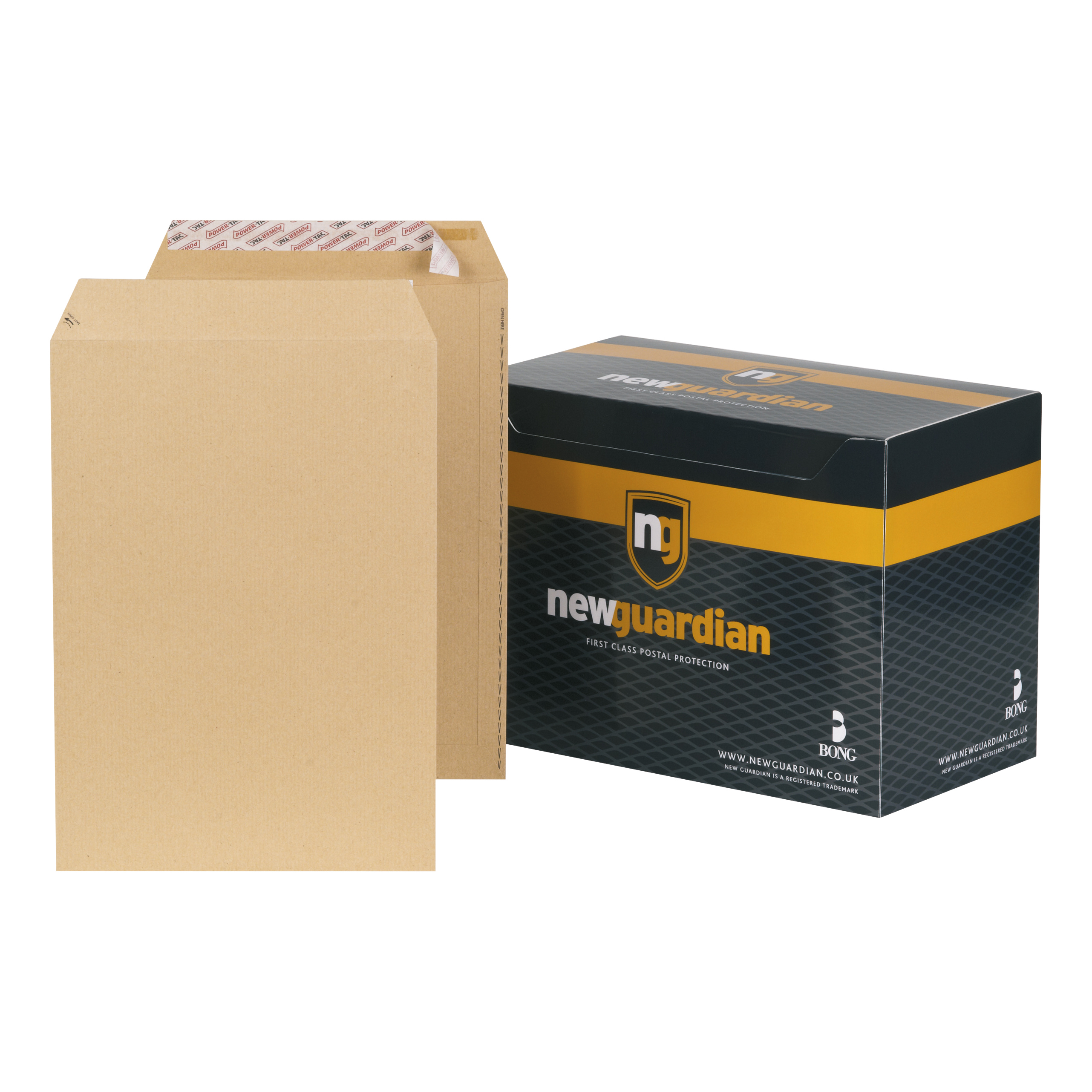 C4 New Guardian Envelopes Pocket Peel & Seal 130gsm C4 324x229mm Manilla Ref J26339 Pack 250