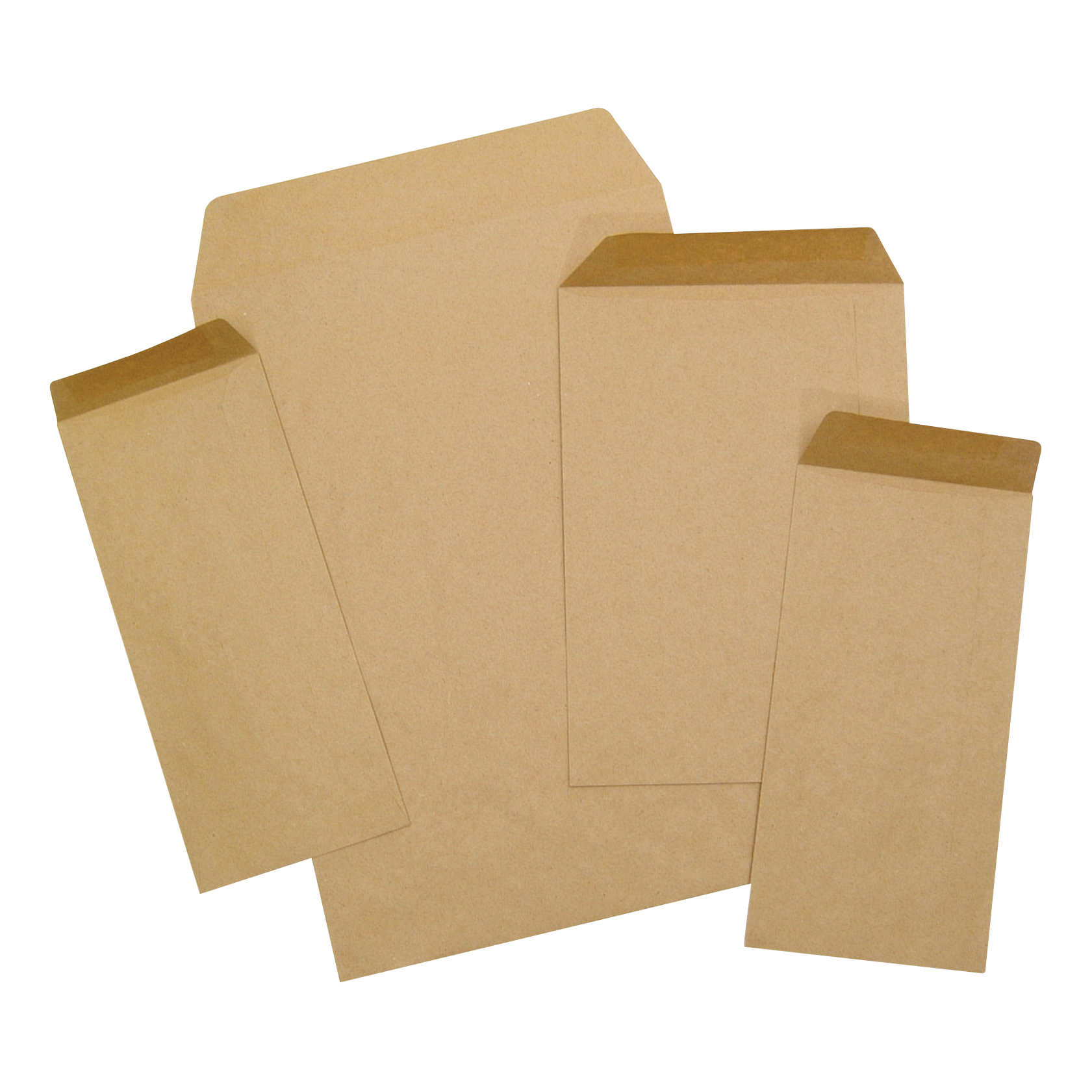 DL 5 Star Office Envelopes FSC Pocket Recycled Gummed 80gsm DL 220x110mm Manilla Pack 1000