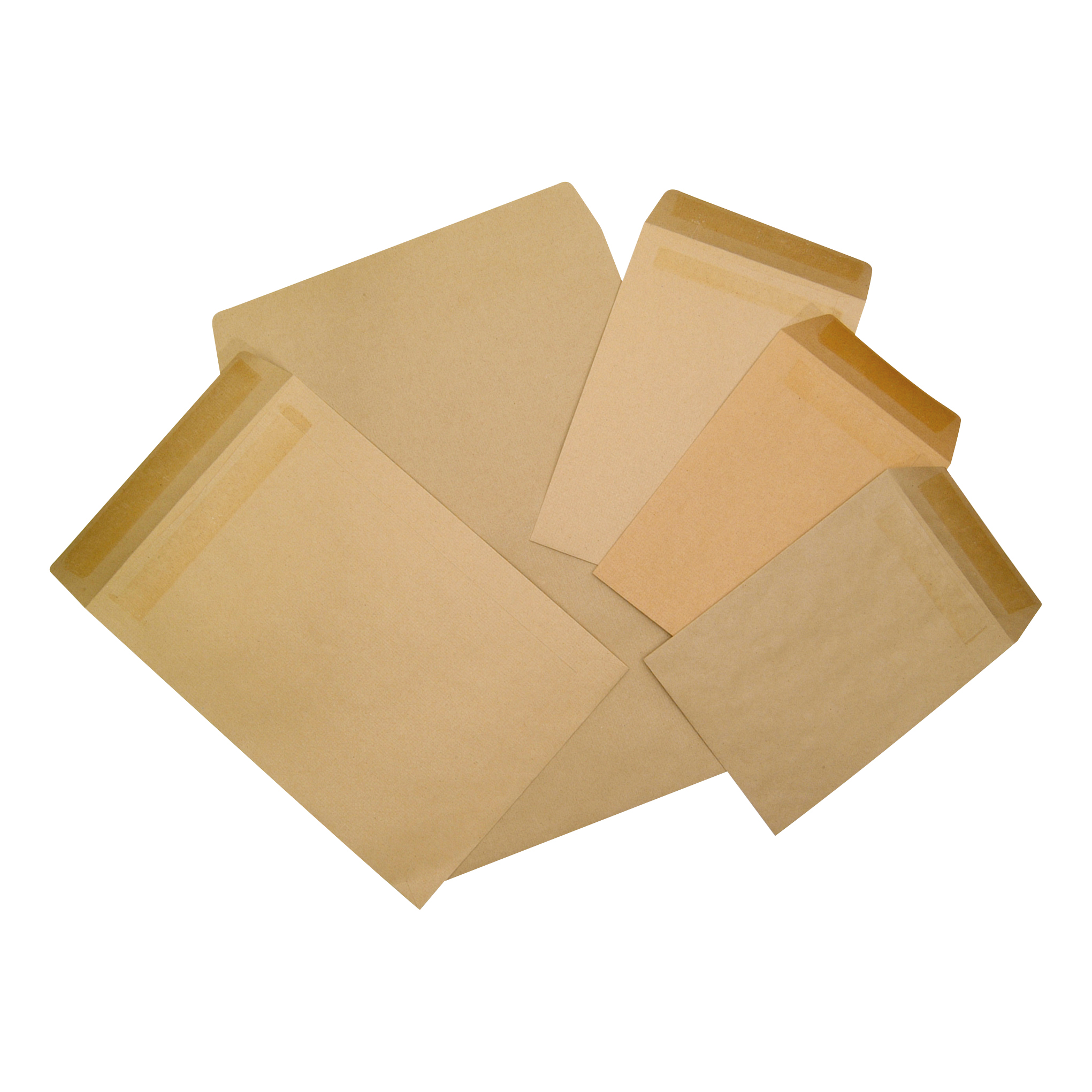 5 Star Office Envelopes FSC Pocket Gummed 80gsm C5 229x162mm Lightweight Manilla Pack 1000