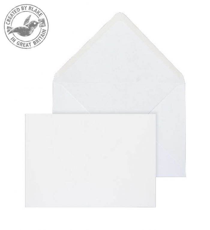 Purely Everyday Banker Invitation Gummed White 90gsm 121x171mm Ref 2007 Pk 1000 3 to 5 Day Leadtime