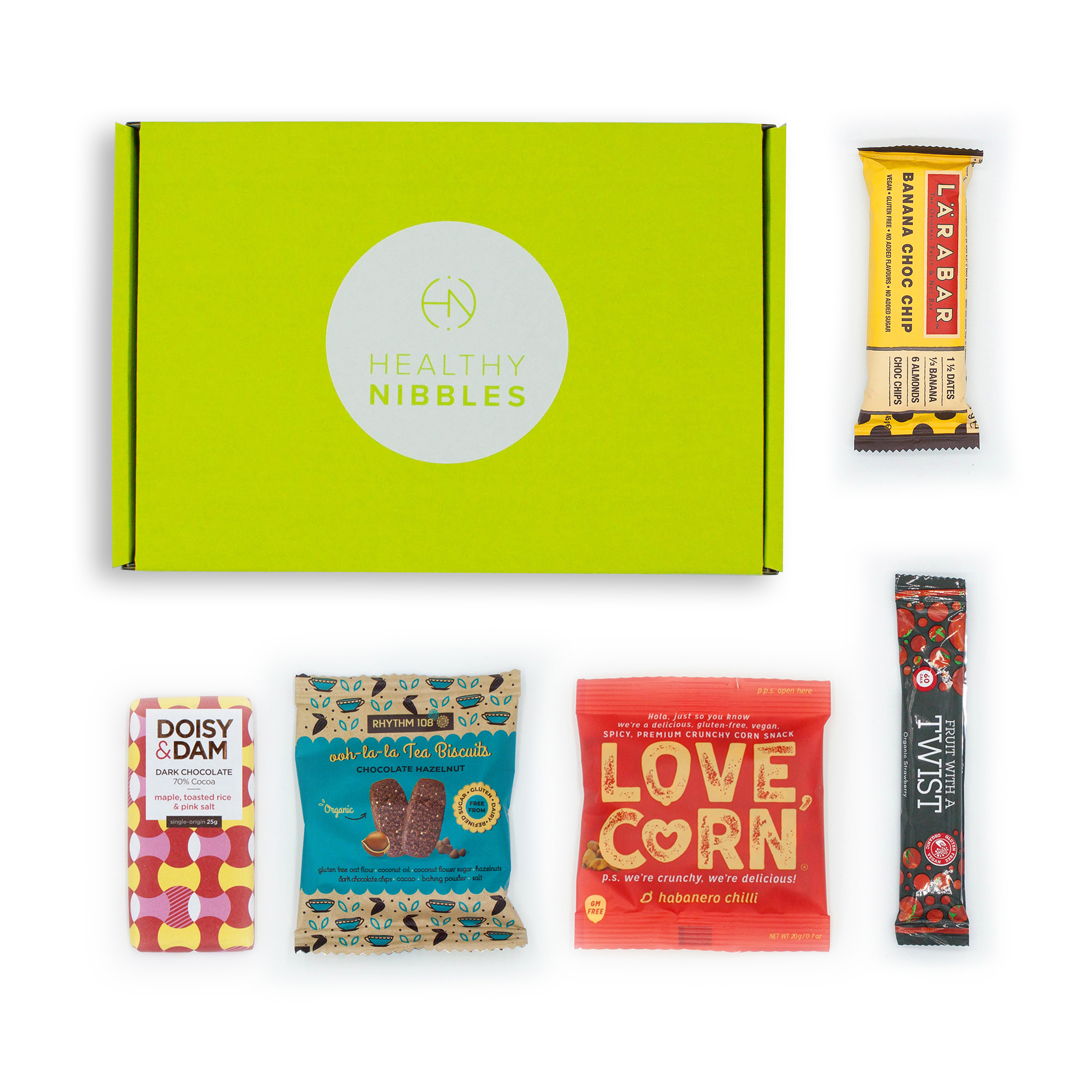 Limitless Healthy Nibbles Gluten Free 5 Mini Box Ref Gluten5 *Up to 2-3 Day Leadtime*
