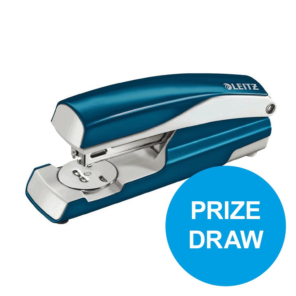 Leitz NeXXt WOW Stapler 3mm 30 Sheet Blue Ref 55021036L REDEMPTION Oct-Dec19