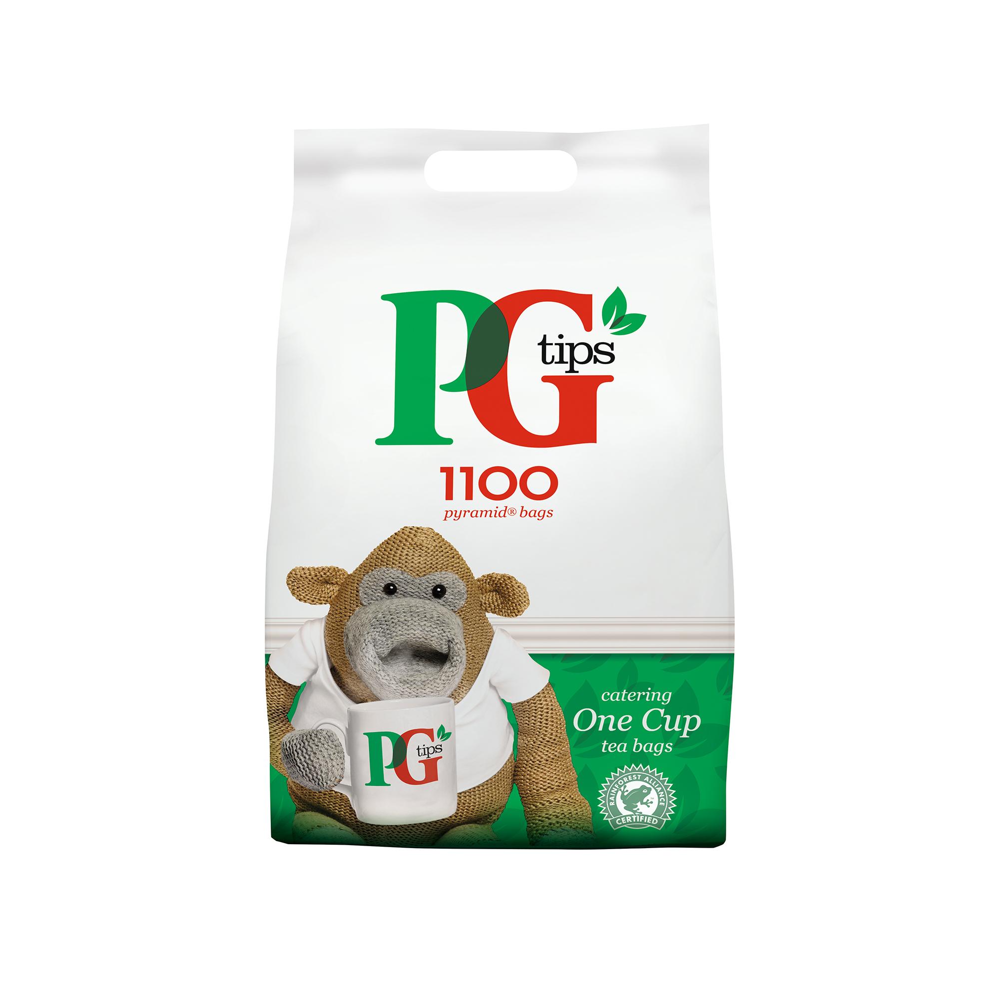 PG Tips Tea Pyramid 1 Cup Ref 67395661 Pack 1100 Buy 2 get Free 2kg Granulated Sugar Apr-Dec 19
