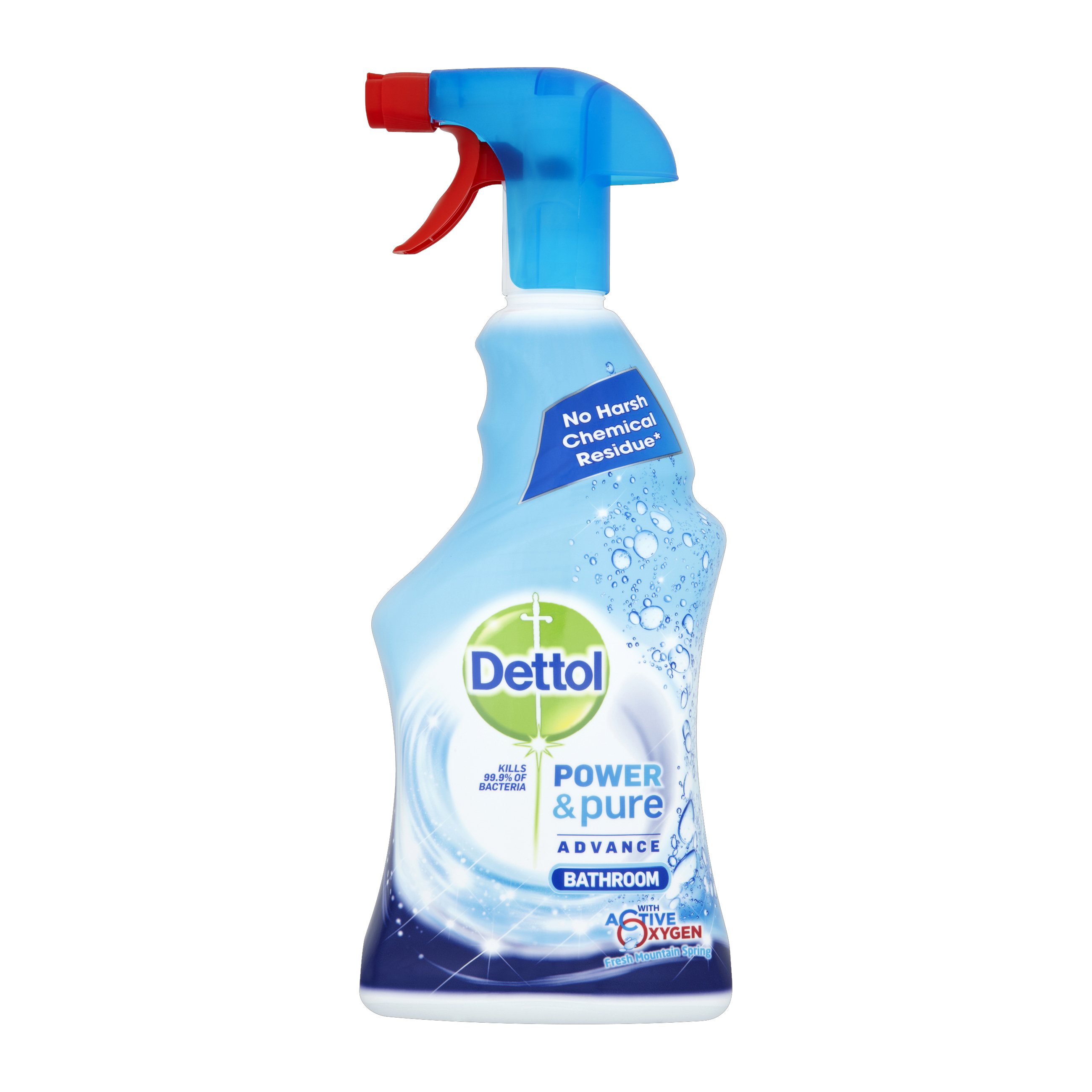 Dettol Power & Pure Bathroom Cleaner Spray 750ml Ref RB78878 [3 for 2] Oct 2019