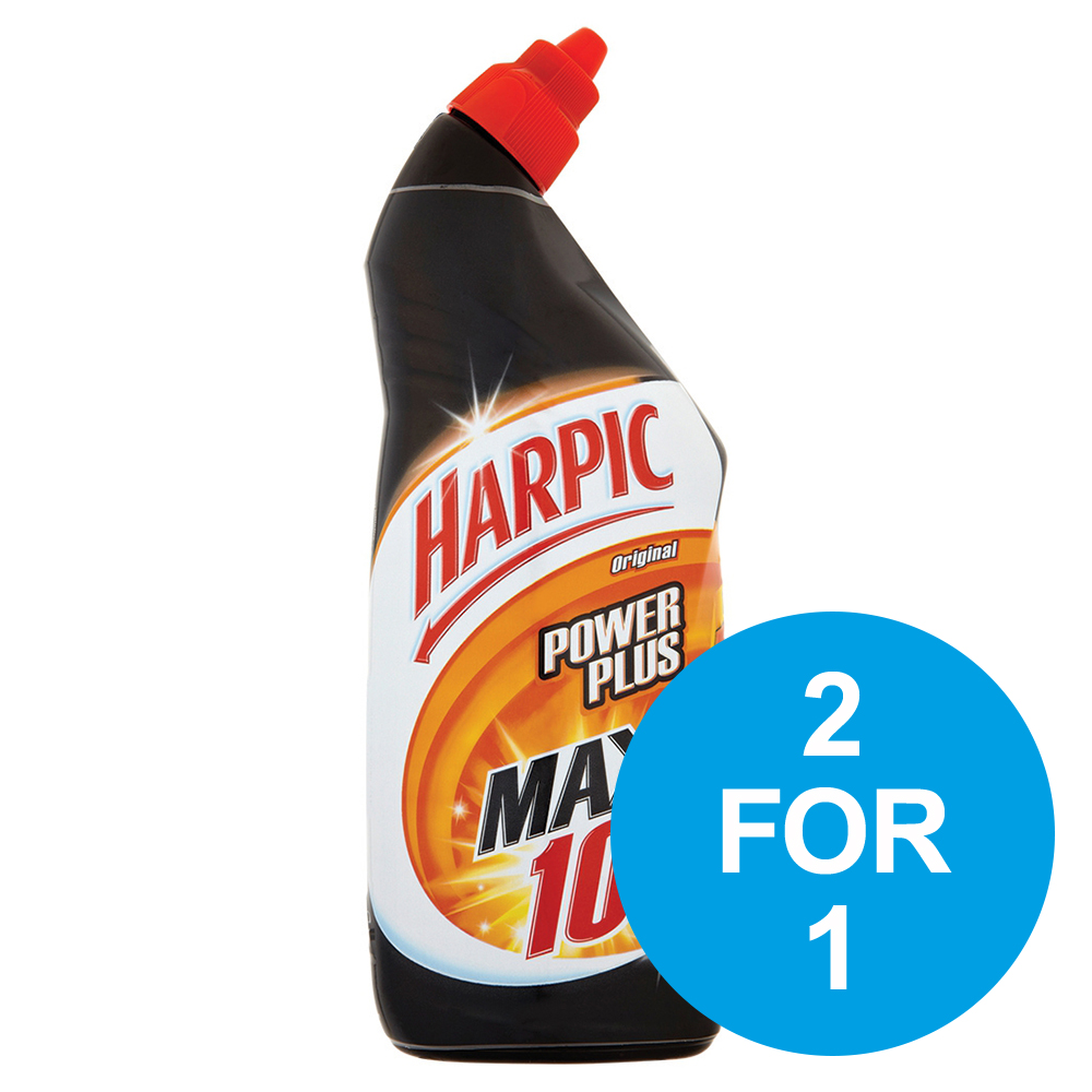 Harpic Power Plus Liquid Original 750ml Ref RB788653 [2 for 1] Oct-Dec 2019