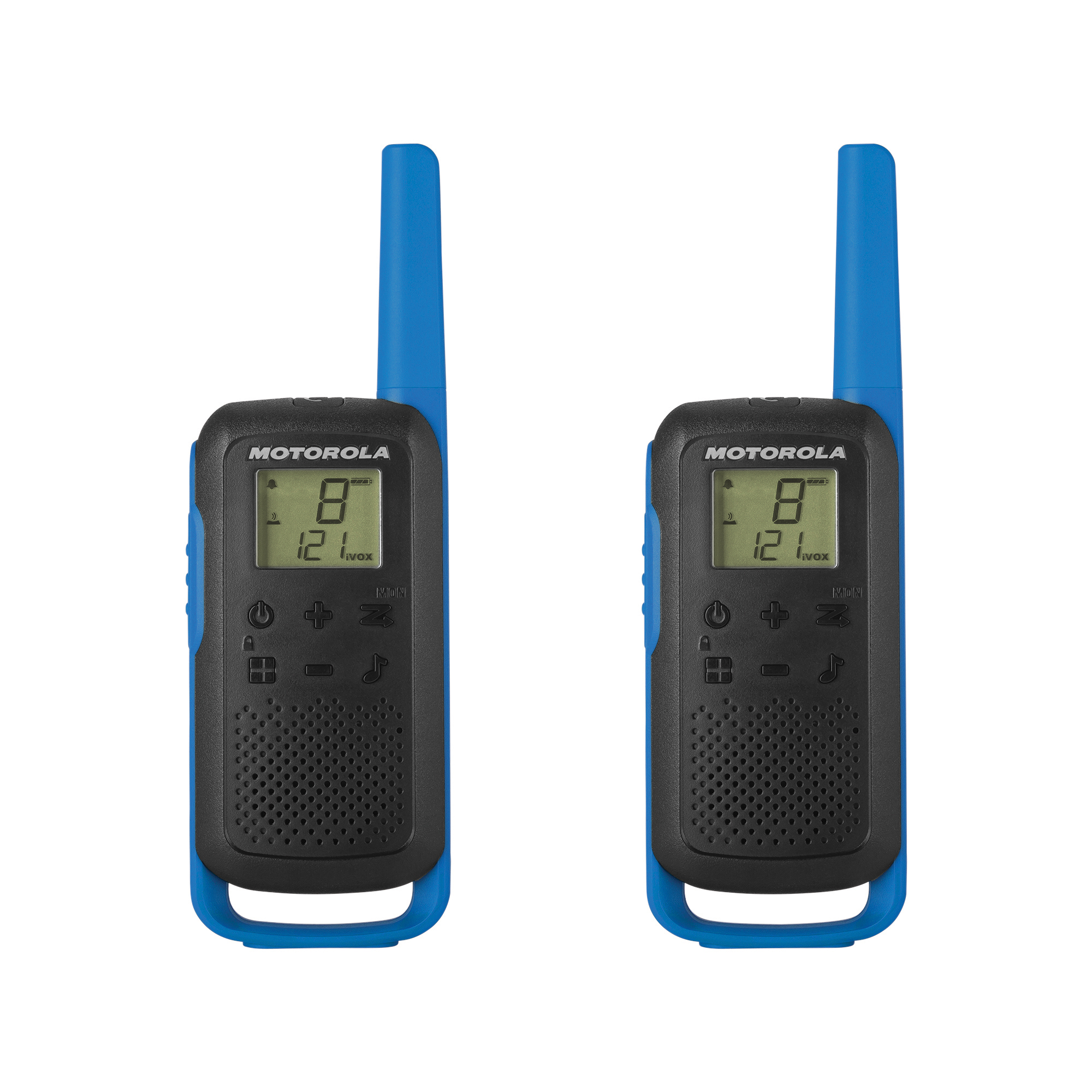 Motorola T62 Two Way Radios Range 8km Ref B6P00810LDRMAW [Pair]