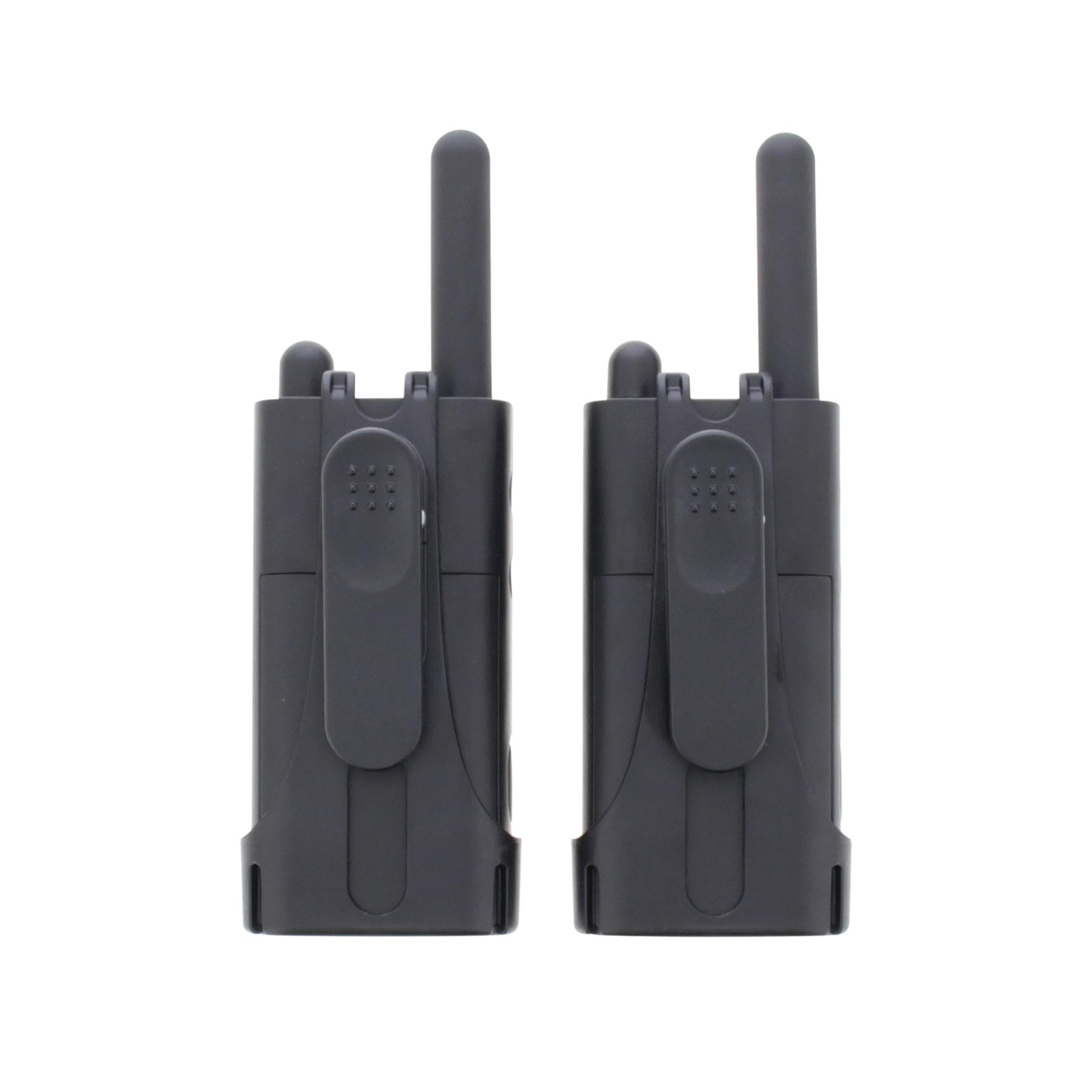 Cobra PU 500 Pro Business Two Way Radios 16 Preset Channels Range 8km Ref PU500B+SV-01 [Pair]