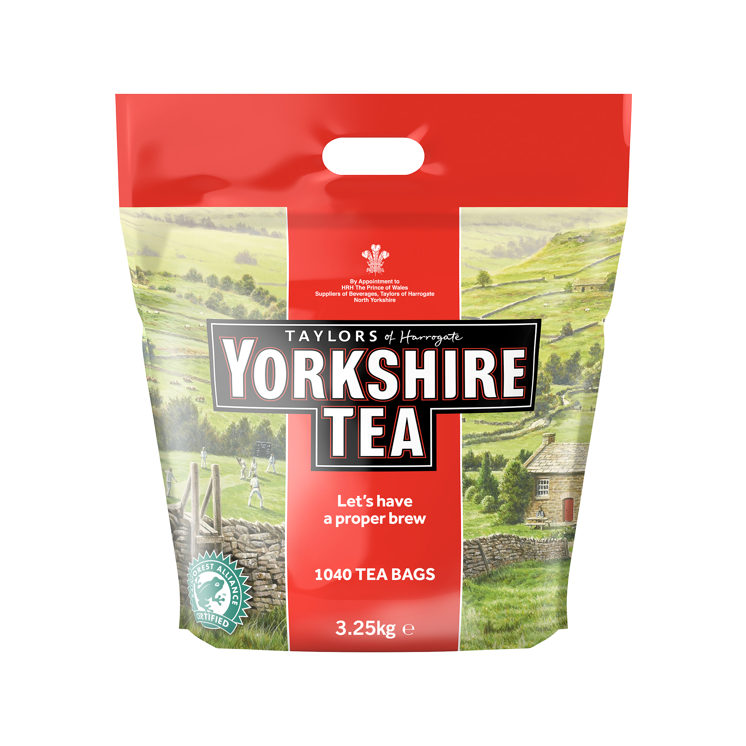 Tea Yorkshire Tea Bags Ref 0403170 Pack 1040