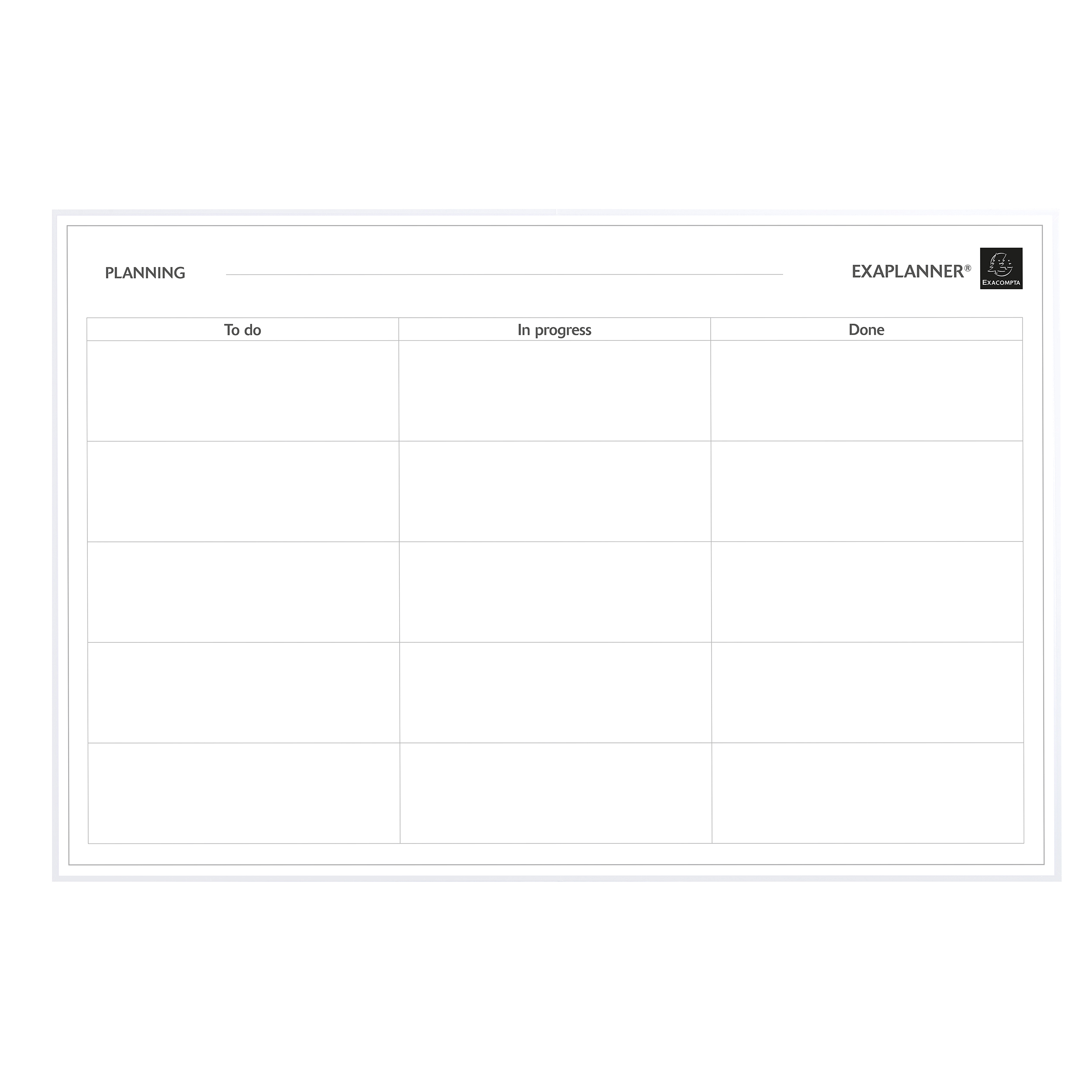 Wall planners Exacompta Magnetic To Do List 900x50x590mm Ref 57180E