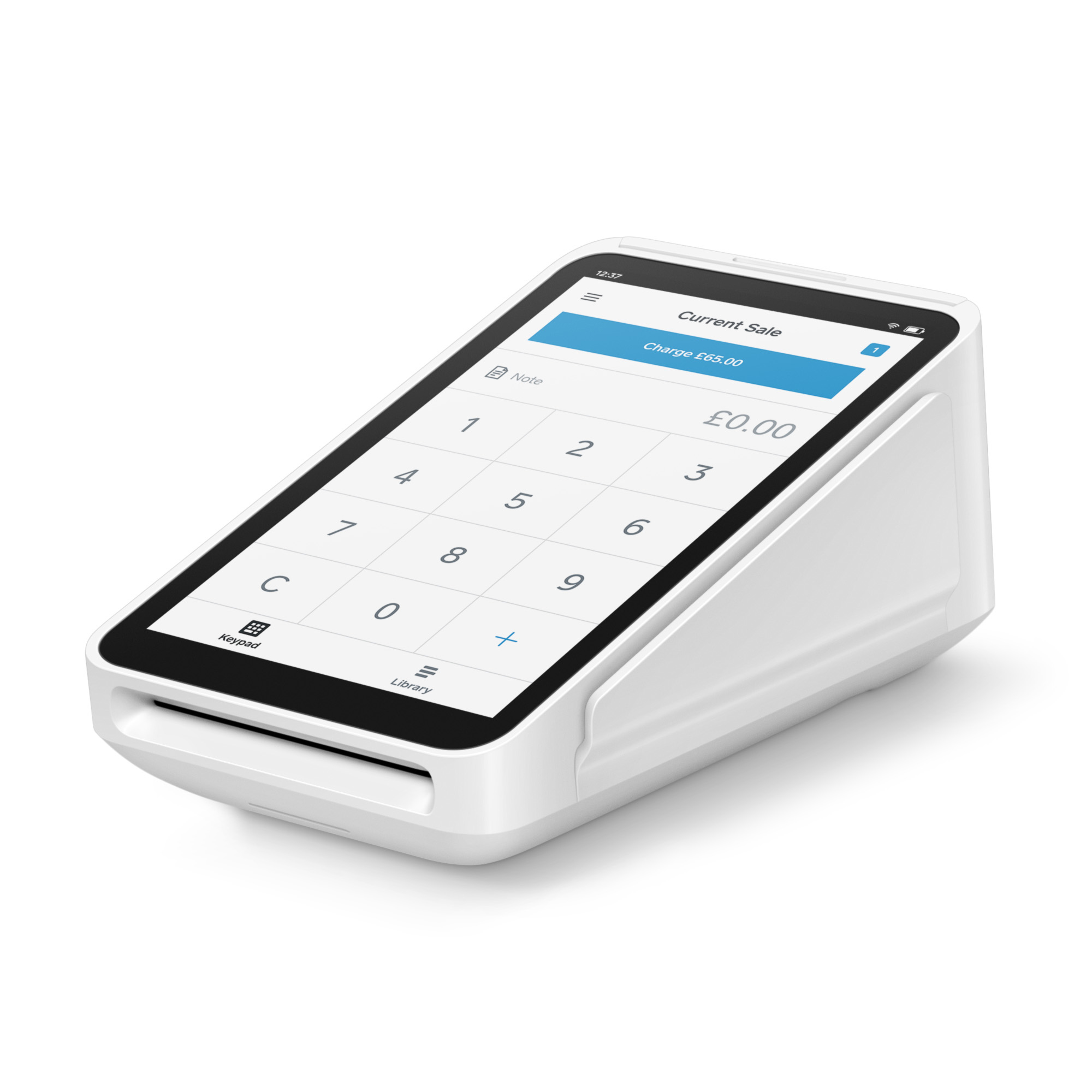 Cash registers Square Terminal All-in-one device Accepts Chip/PIN/Contactless/Apple Pay/Google Pay Ref A-SKU-0568