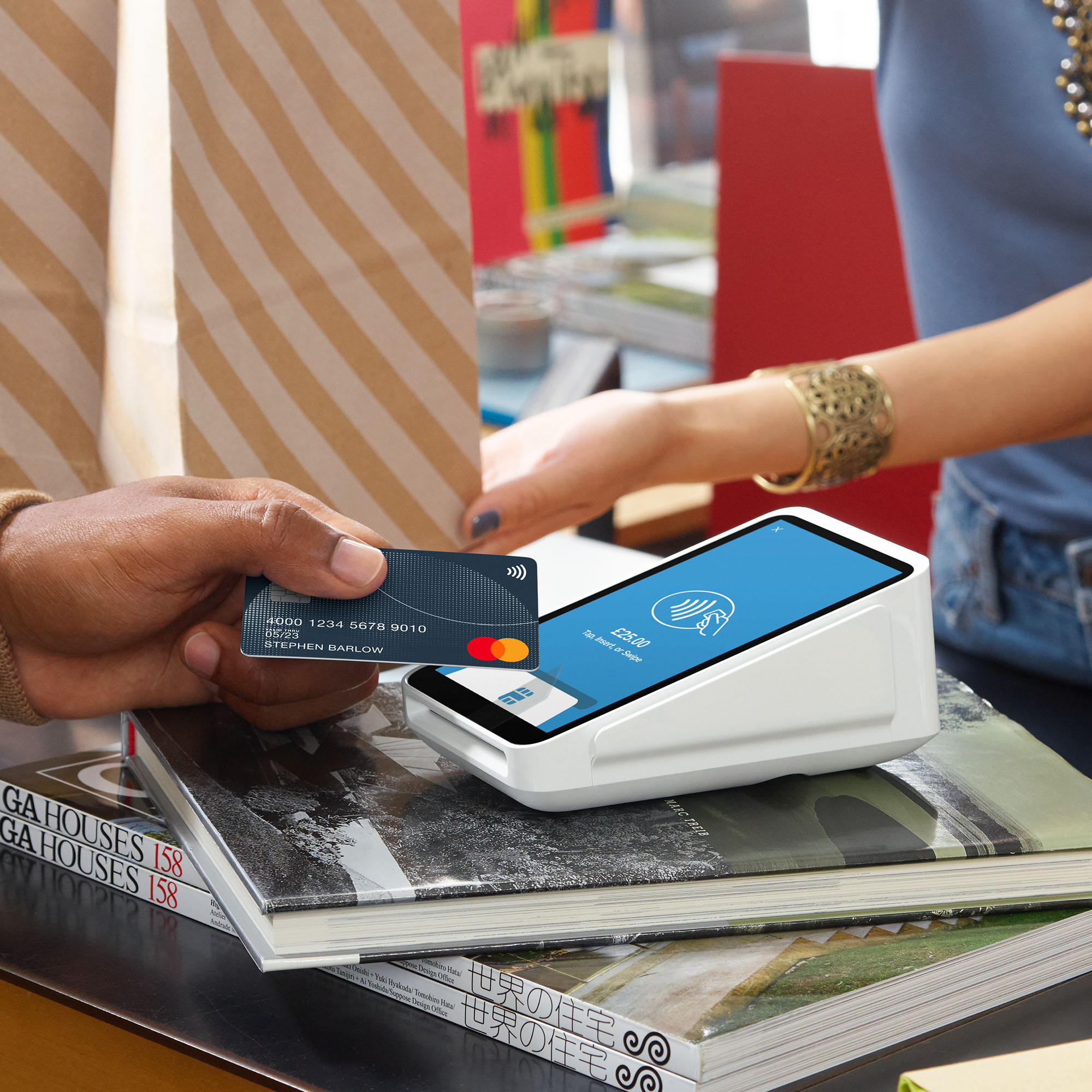 Square Terminal All-in-one device Accepts Chip/PIN/Contactless/Apple Pay/Google Pay Ref A-SKU-0568