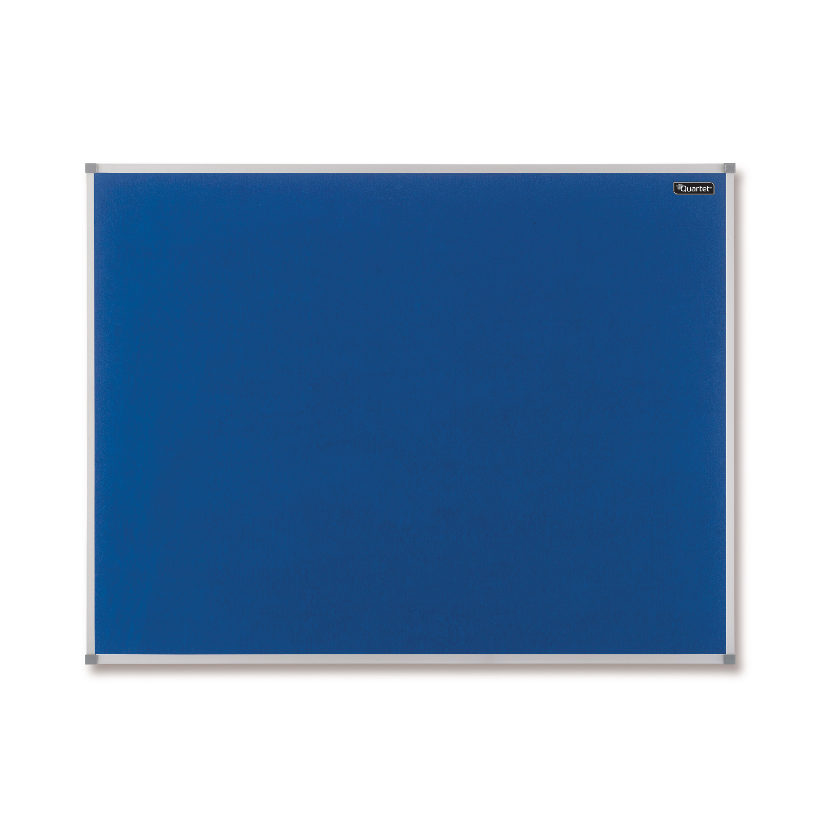 Nobo Basic Felt Notice Board Aluminium Trim 1200x900mm Blue Ref 1904071