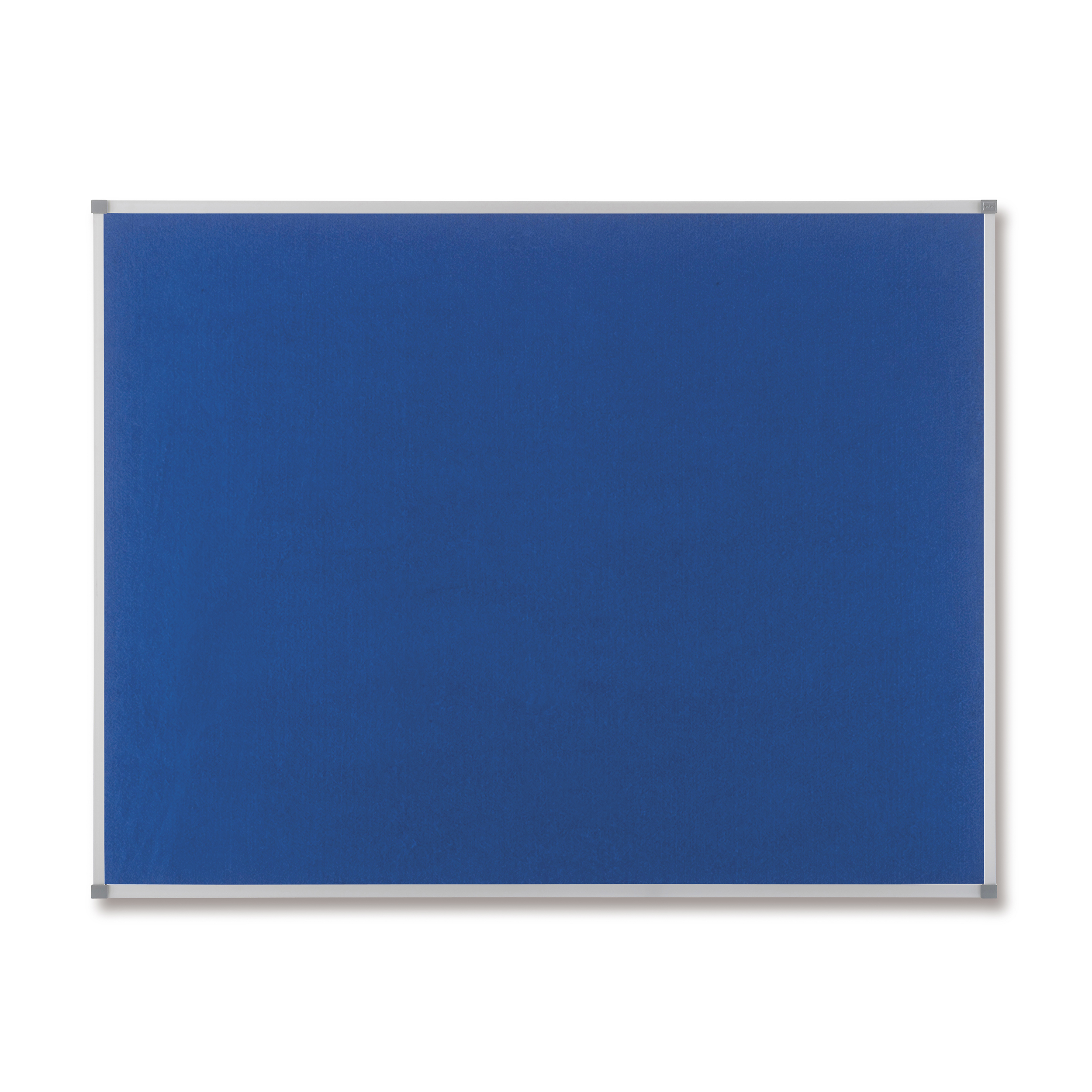 Image for Nobo Classic Noticeboard Felt with Aluminium Frame W900xH600mm Blue Ref 1900915