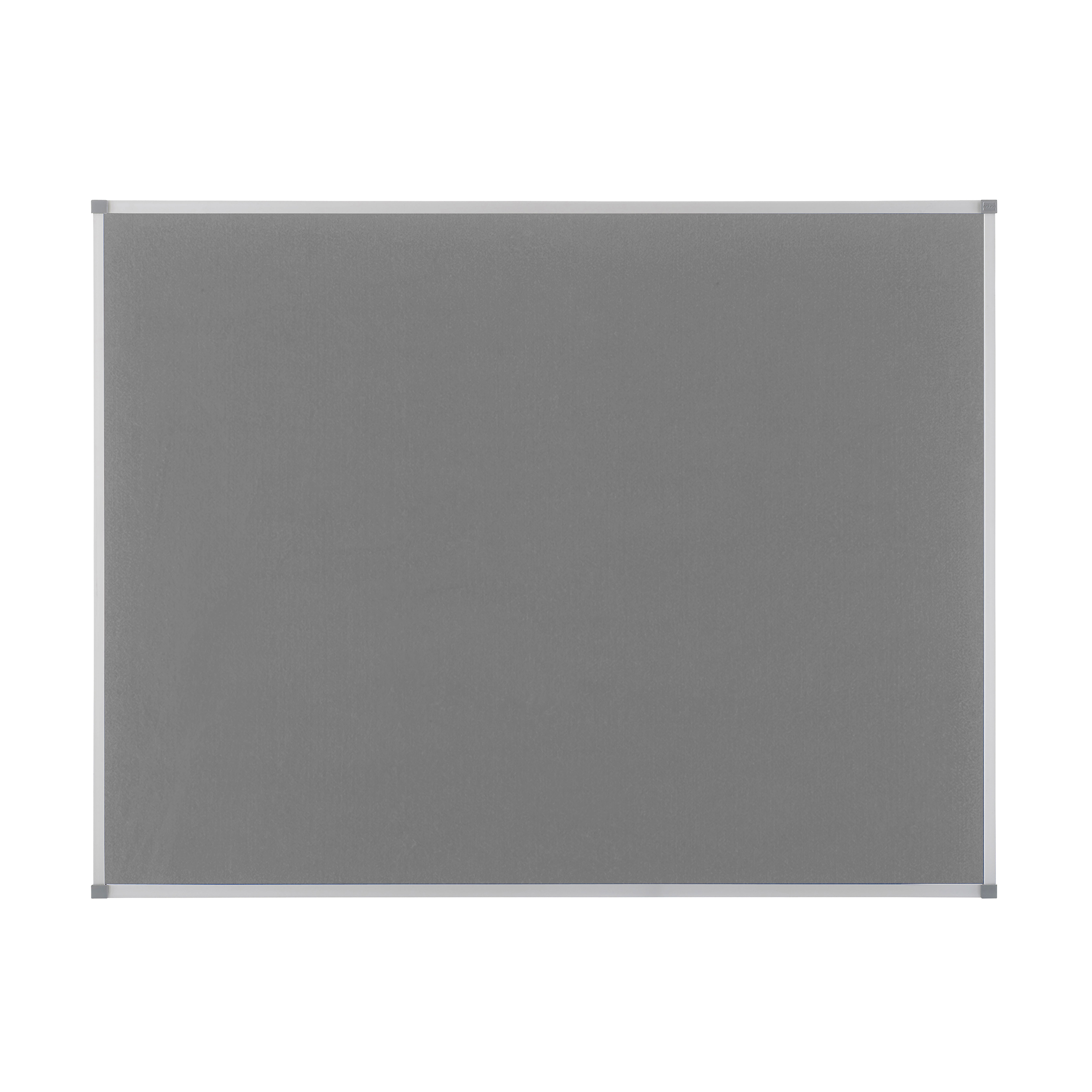 Image for Nobo Classic Noticeboard Felt with Aluminium Frame W900xH600mm Grey Ref 1900911