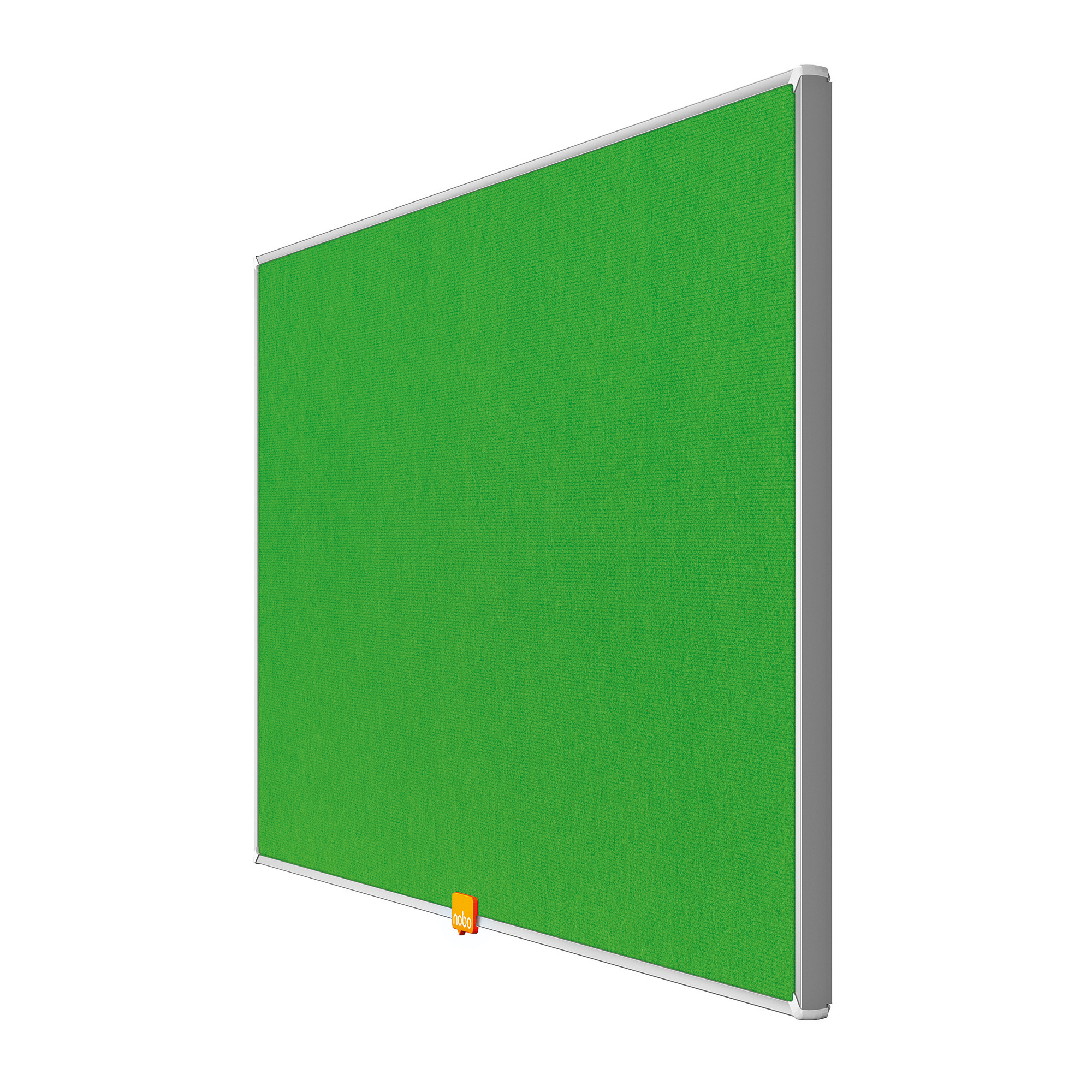 Bulletin boards or accessories Nobo 32 inch Widescreen Felt Board 710x400mm Green Ref 1905314