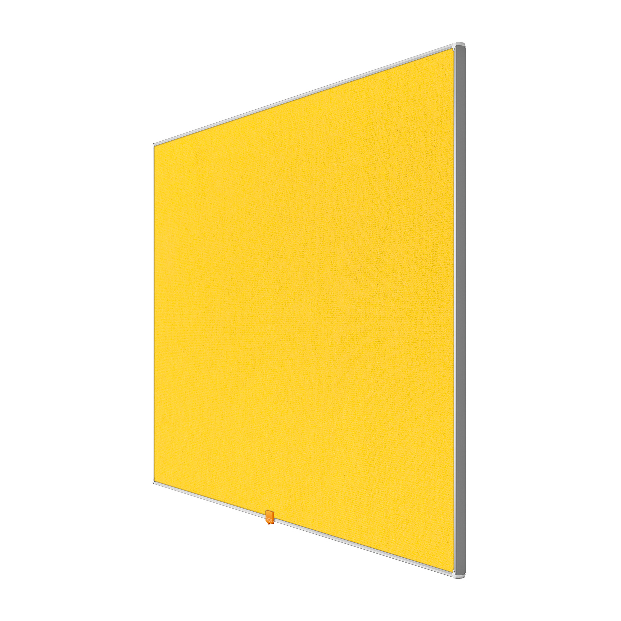 Bulletin boards or accessories Nobo 32 inch Widescreen Felt Board 710x400mm Yellow Ref 1905318