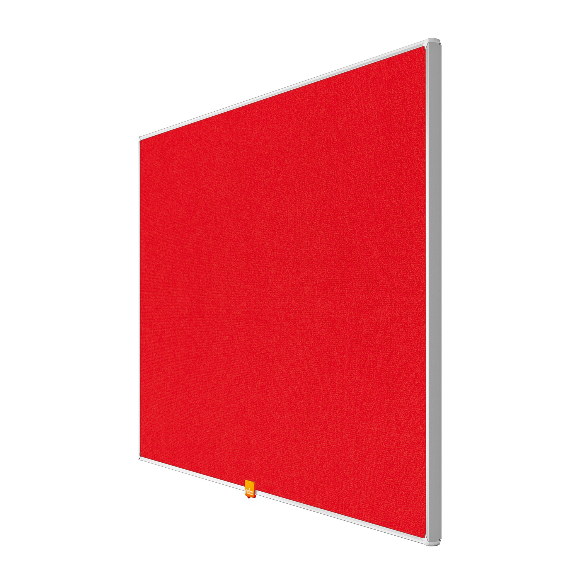 Bulletin boards or accessories Nobo 40 inch Widescreen Felt Board 890x500mm Red Ref 1905311