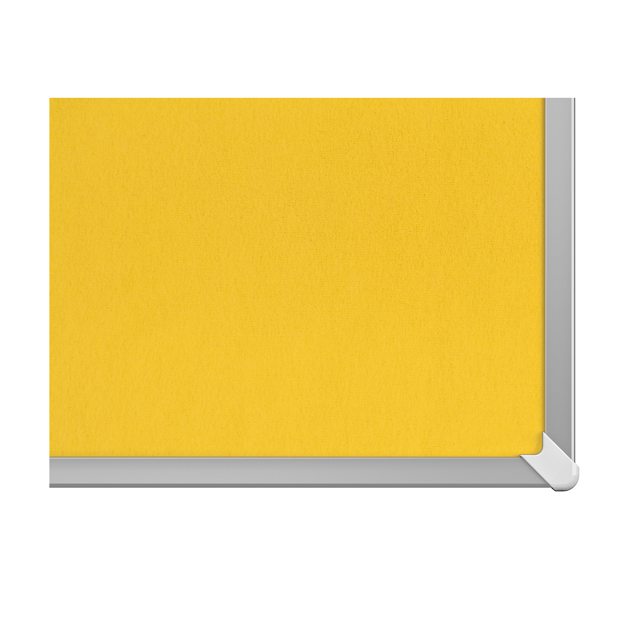 Bulletin boards or accessories Nobo 85 inch Widescreen Felt Board 1880x1060mm Yellow Ref 1905321