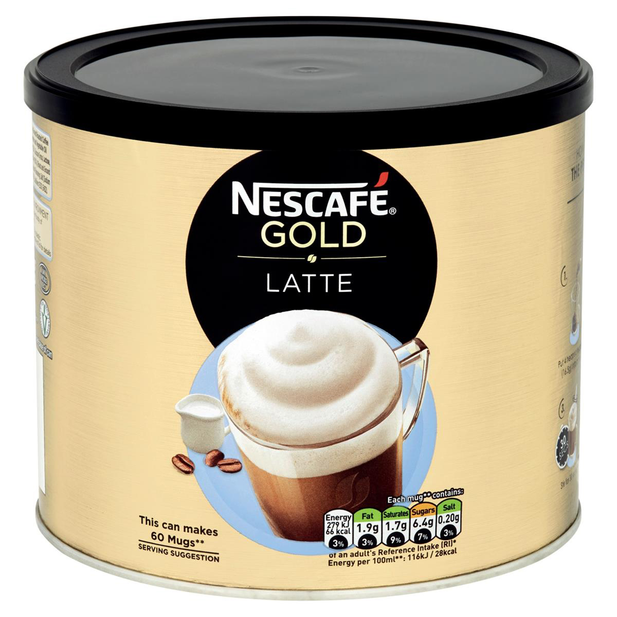Coffee Nescafe Gold Latte Instant Coffee 1kg Ref 12314885