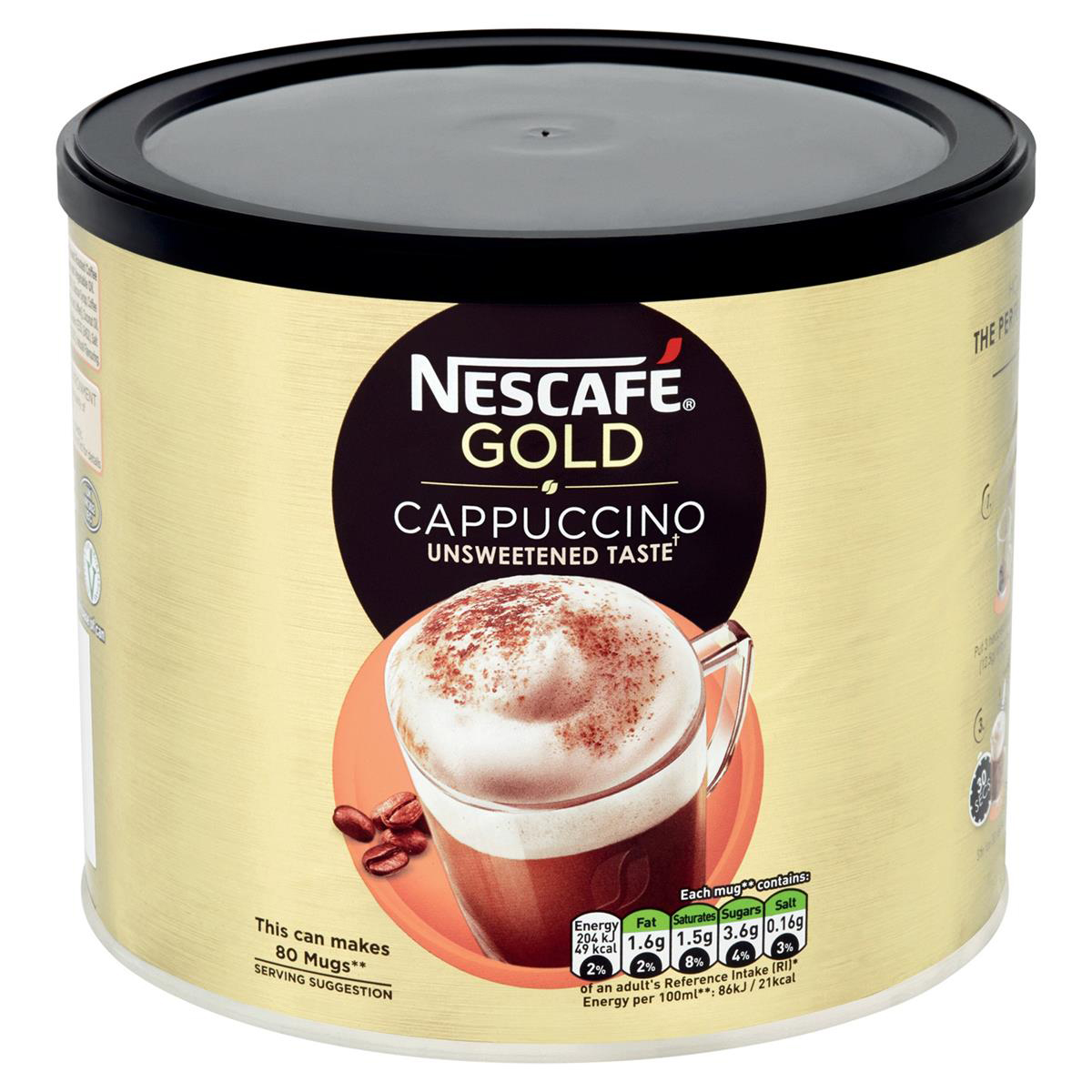 Coffee Nescafe Gold Cappuccino Instant Coffee 1kg Ref 12314882