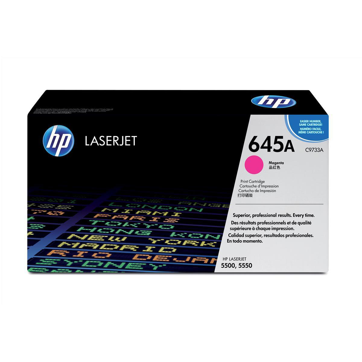 HP 645A Laser Toner Cartridge Page Life 12000pp Magenta Ref C9733A