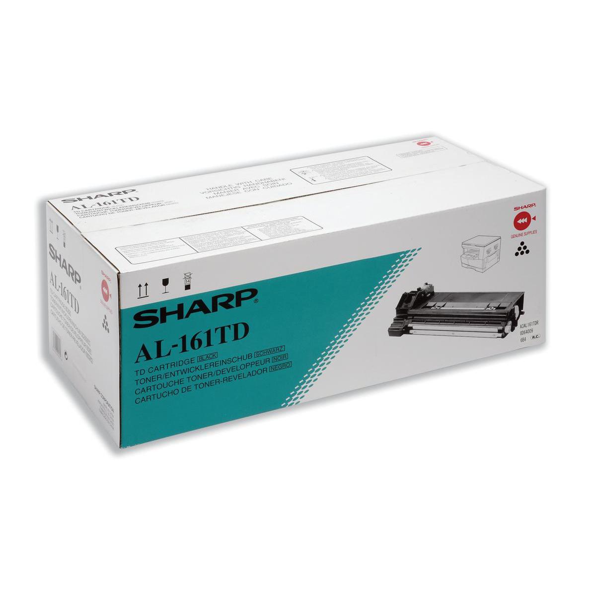 Laser Toner Cartridges Sharp Laser Toner Cartridge Page Life 9000pp Black Ref AL161TD
