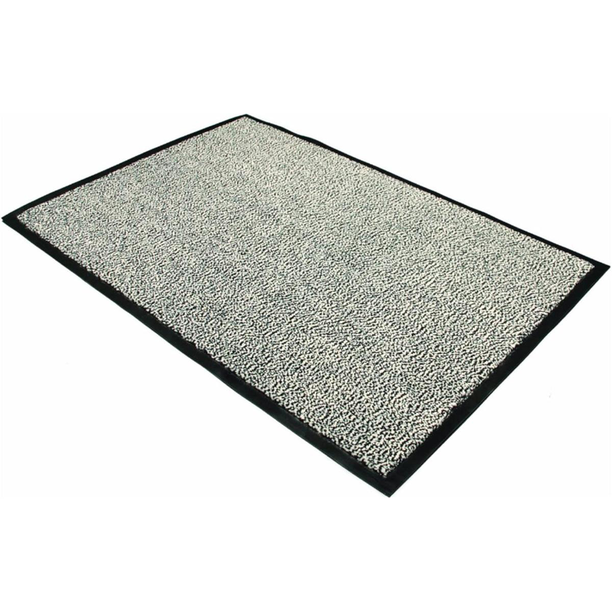 Indoor Doortex Advantagemat Door Mat Dust & Moisture Control Polypropylene 600x900mm Anthracite Ref FC46090DCBWV