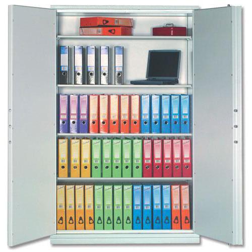 Phoenix Firechief Security Cupboard Fire Resistant 817 Litre Capacity 200kg W1250xD520x1950mm Ref FS1654K