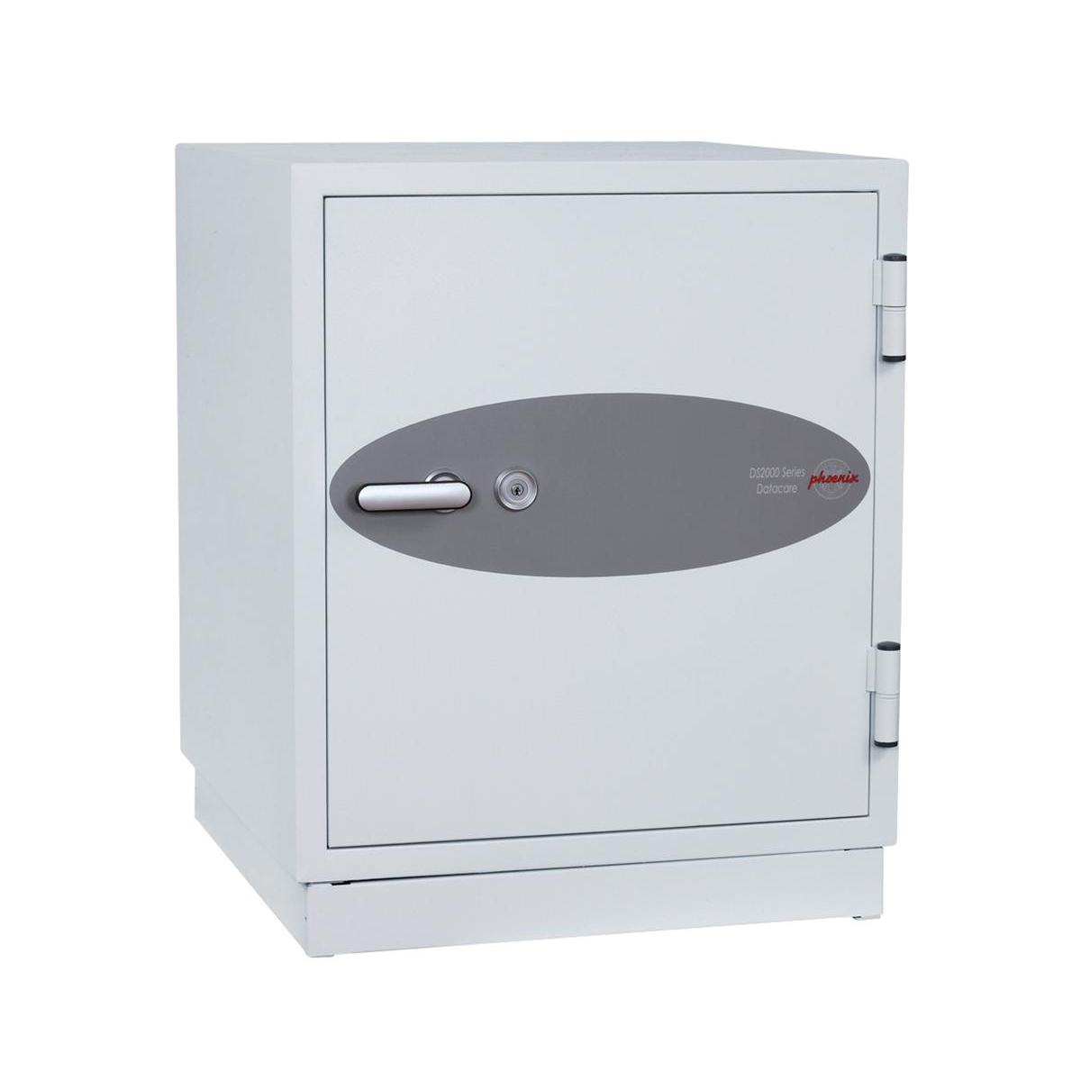 Phoenix Datacare Safe 2 Hour Fire Protection High Quality Key Lock 77L 222kg W690xD720xH770mm Ref DS2003K