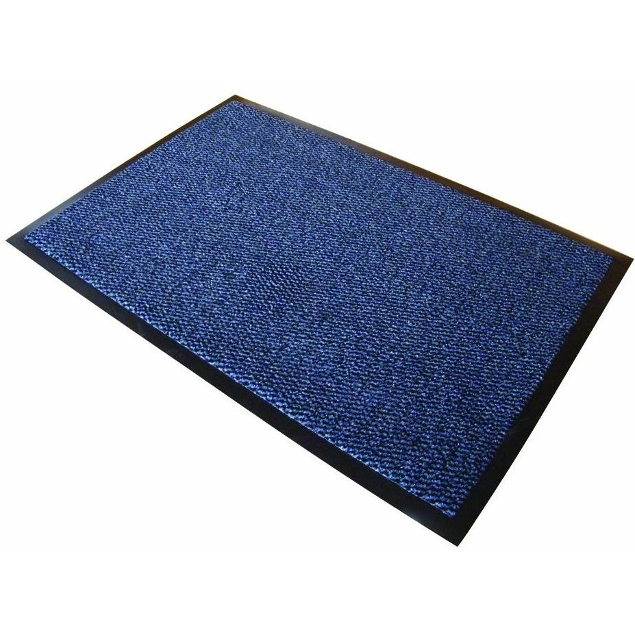 Doortex Advantagemat Door Mat Dust and Moisture Control Polypropylene 600x900mm Blue Ref FC46090DCBLV