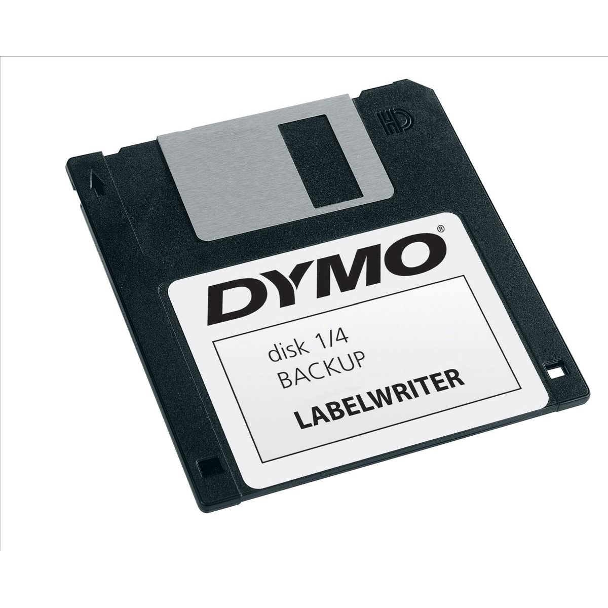 Dymo Labelwriter Labels 3.5 inch Diskette 54x70mm White Ref 99015 S0722440 Pack 320