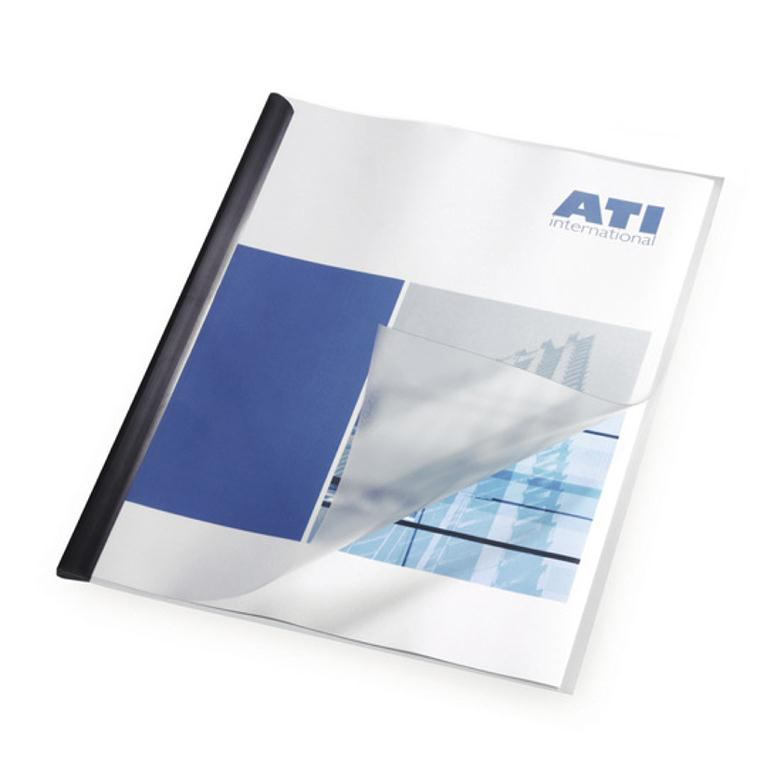 Report Covers Polypropylene Capacity 100 Sheets A3 Fold to A4 Economy Clear Pack 50
