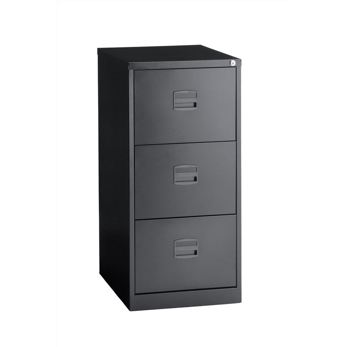 Trexus 3 Drawer Filing Cabinet 470x622x1016mm Ref 632694