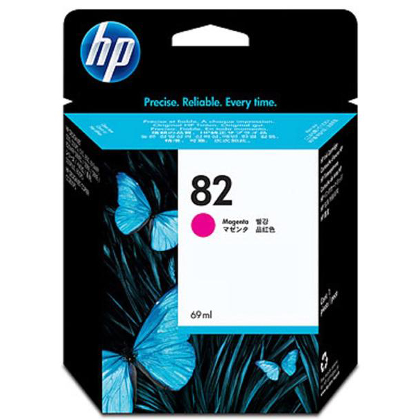 Hewlett Packard HP No.82 Inkjet Cartridge High Yield Page Life 1430pp 69ml Magenta Ref C4912A