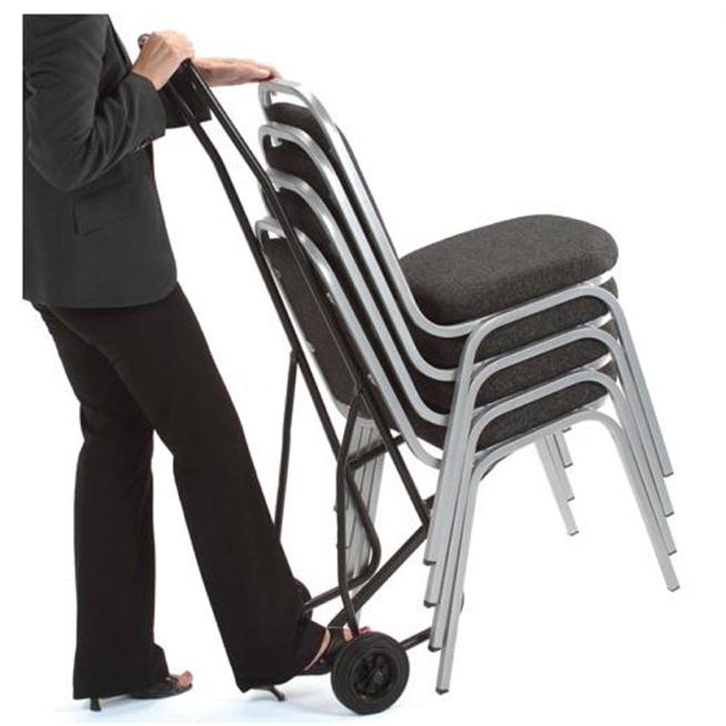 Trolleys or accessories Trexus Chair Trolley for 10 Stacking Chairs Ref 651397